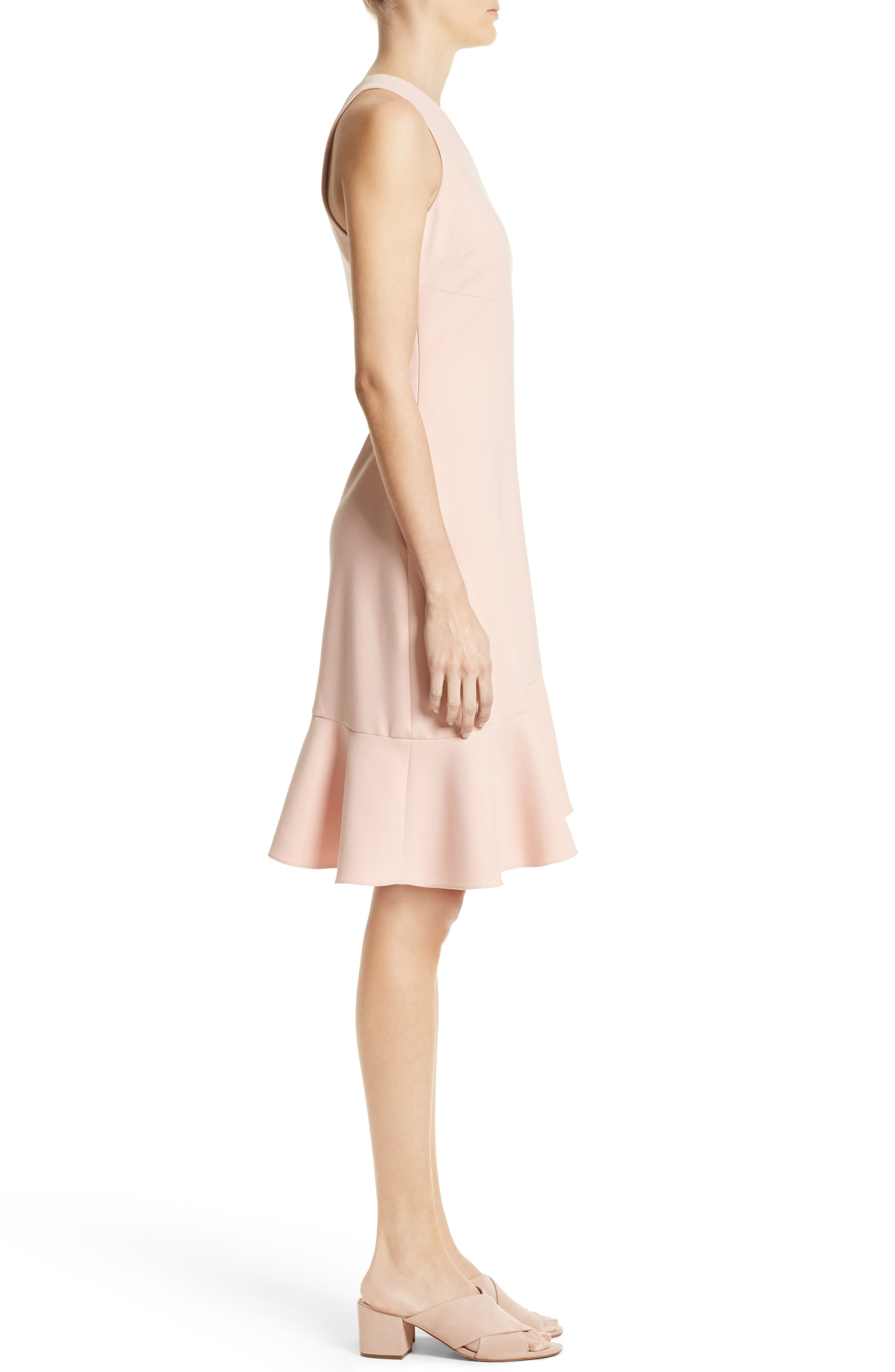 Alternate Image 3  - Cinq à Sept Stella Asymmetrical One-Shoulder Dress