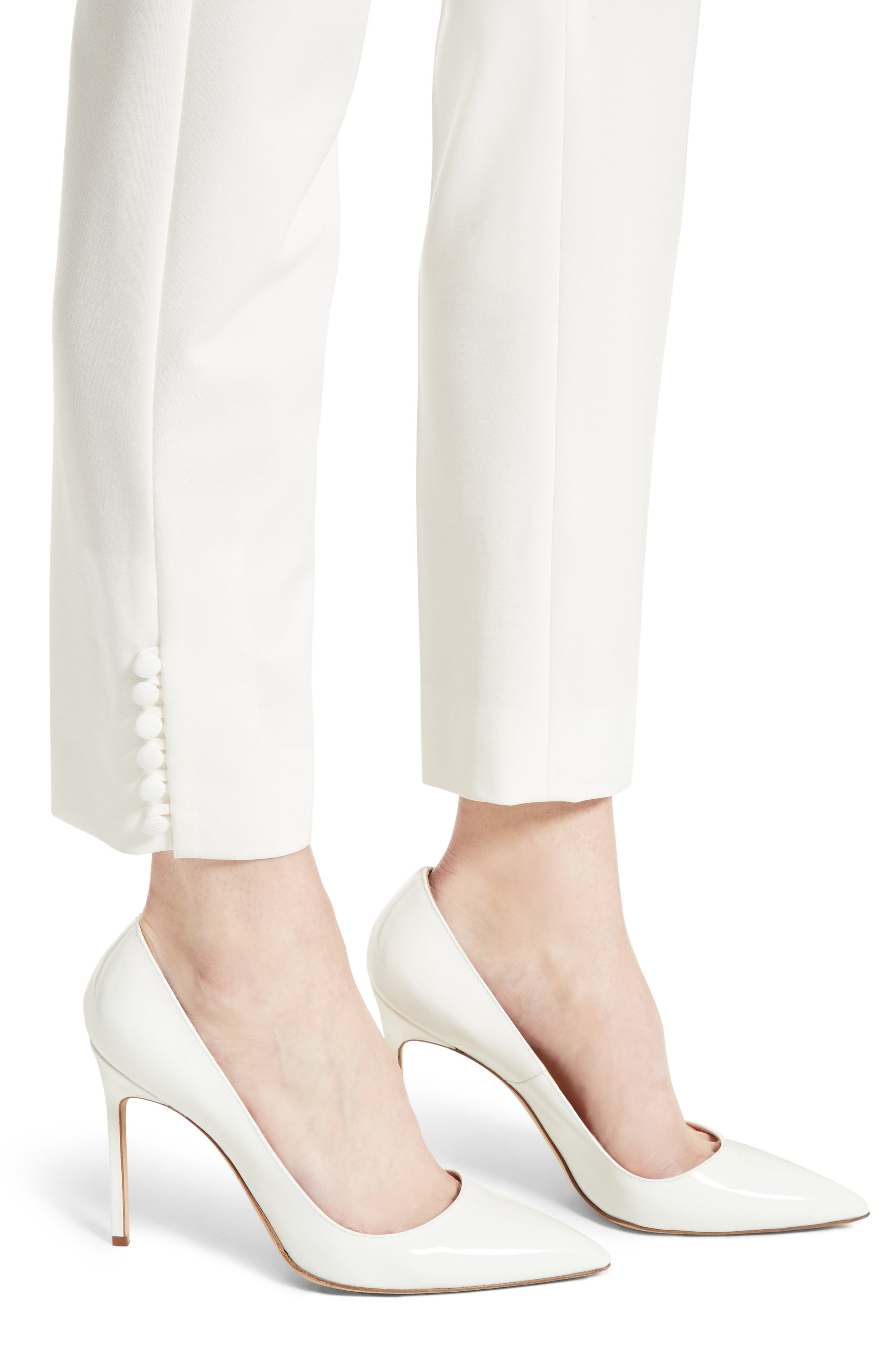 Alternate Image 6  - Max Mara Papaile Crop Pants
