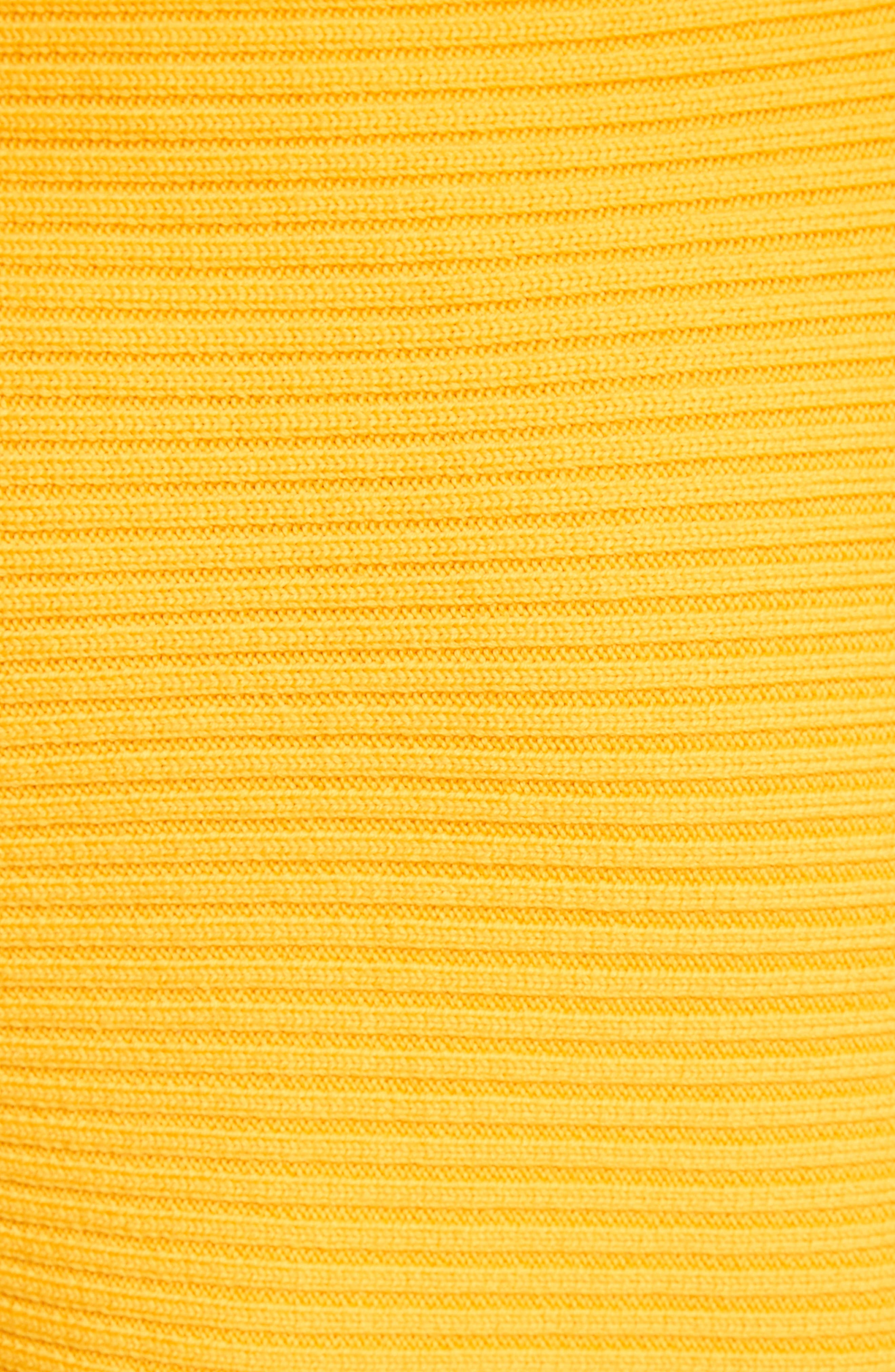 Alternate Image 7  - Tibi Asymmetrical Rib Merino Wool Skirt