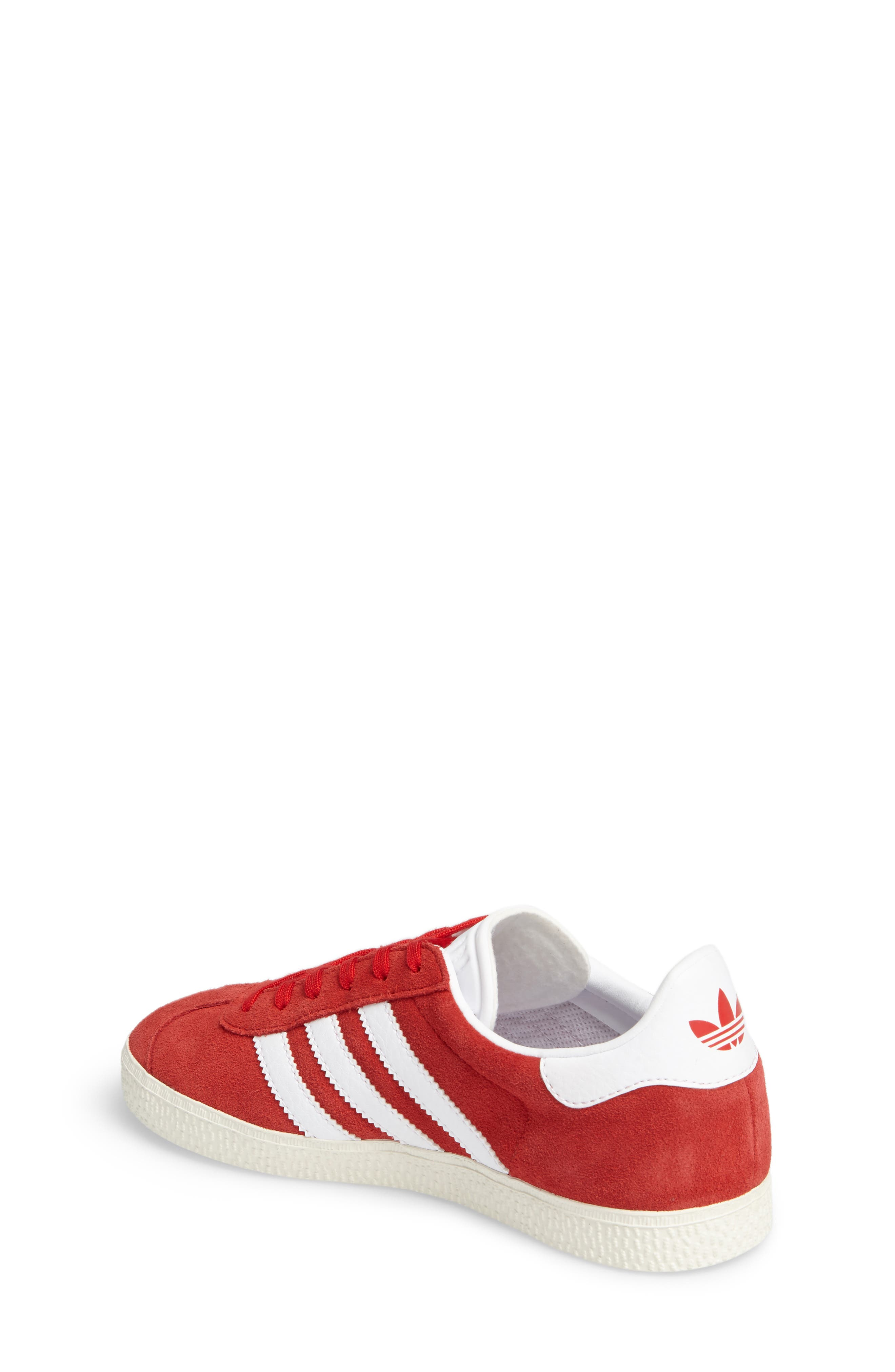 Alternate Image 2  - adidas Gazelle Sneaker (Big Kid)