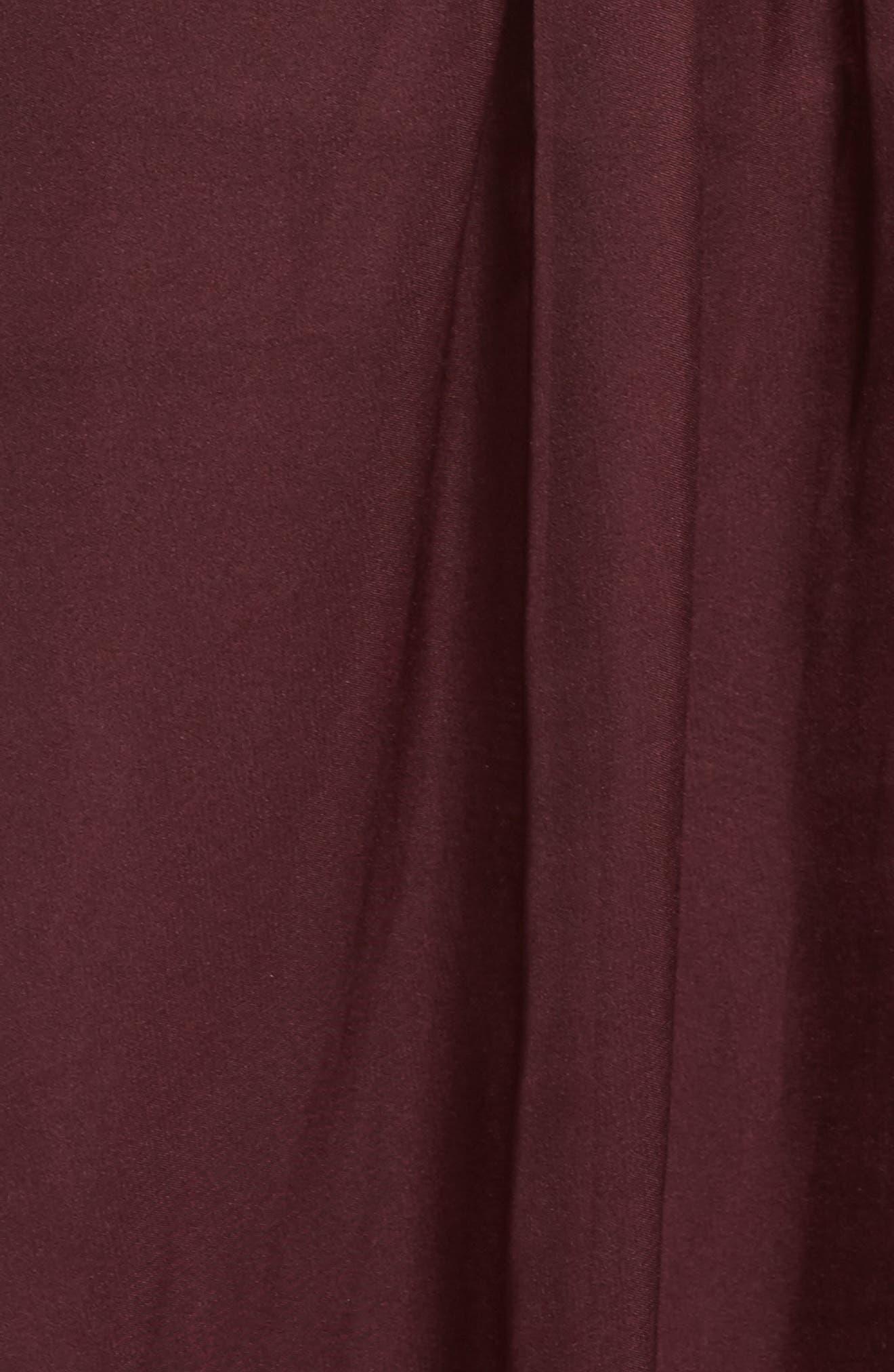 Alternate Image 5  - Mac Duggal Beaded Bodice Strapless Chiffon Gown (Plus Size)