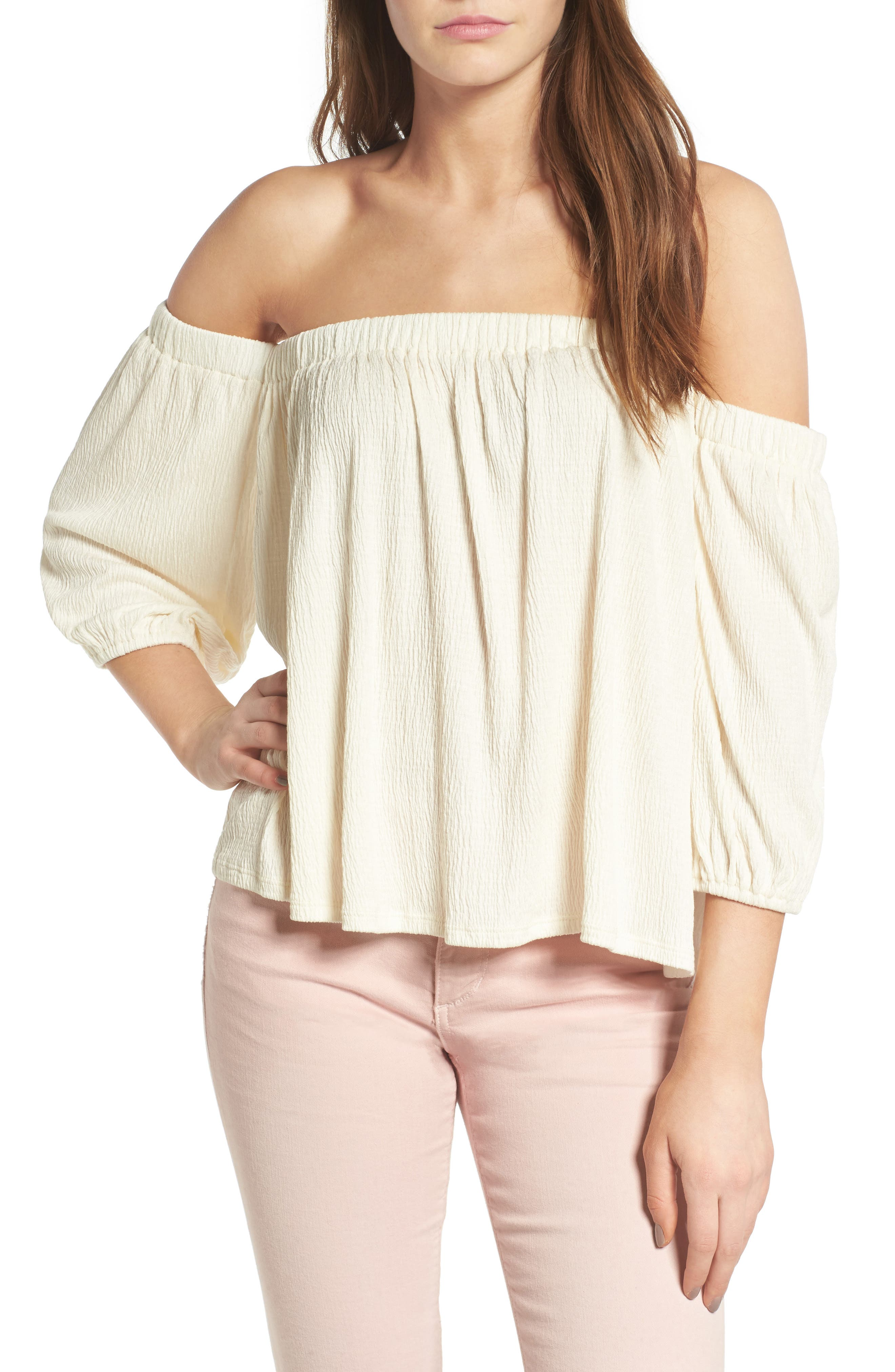 Ella Moss Gionna Off the Shoulder Top