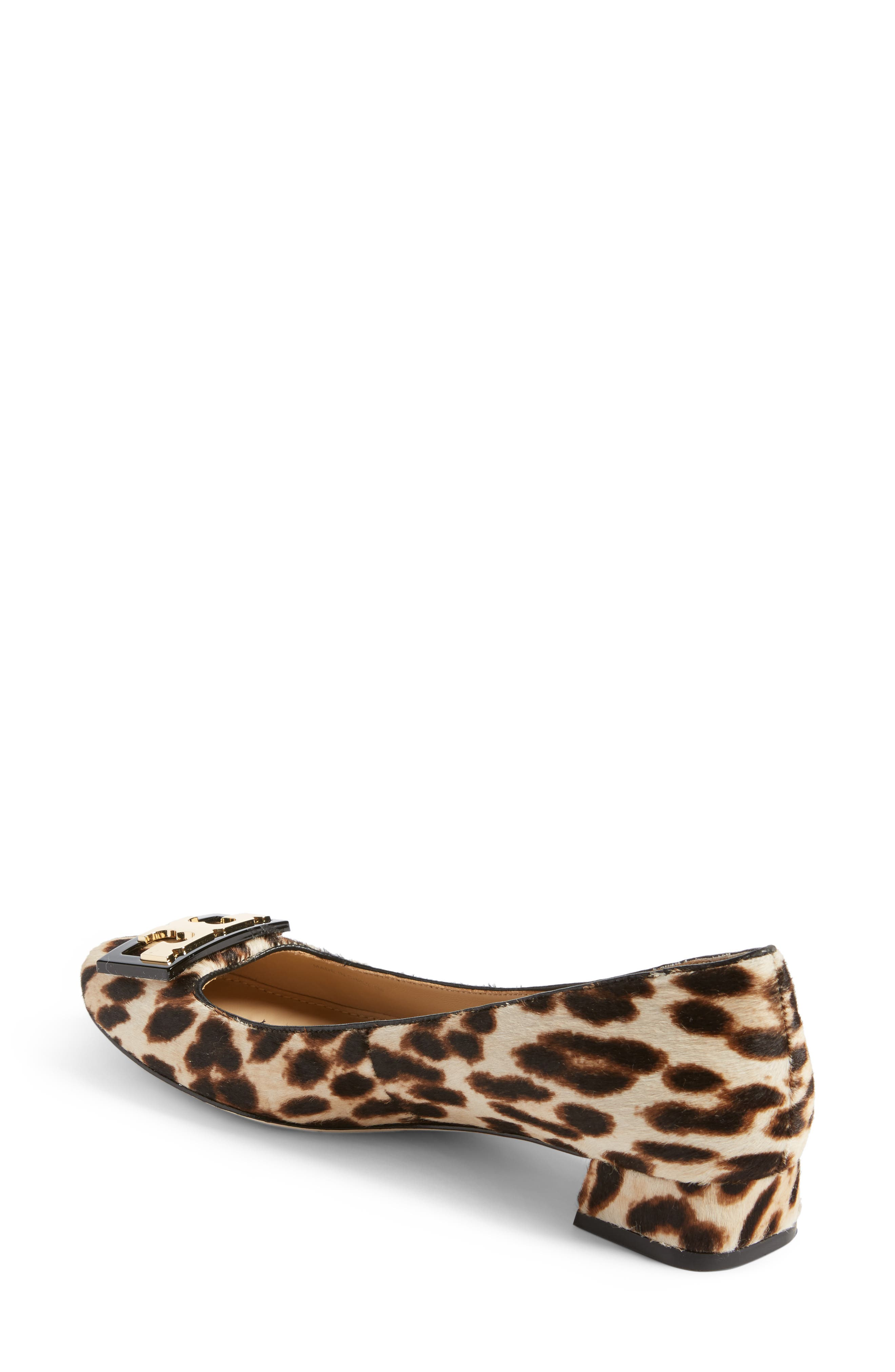 Gigi Block Heel Pump,                             Alternate thumbnail 2, color,                             Natural Leopard