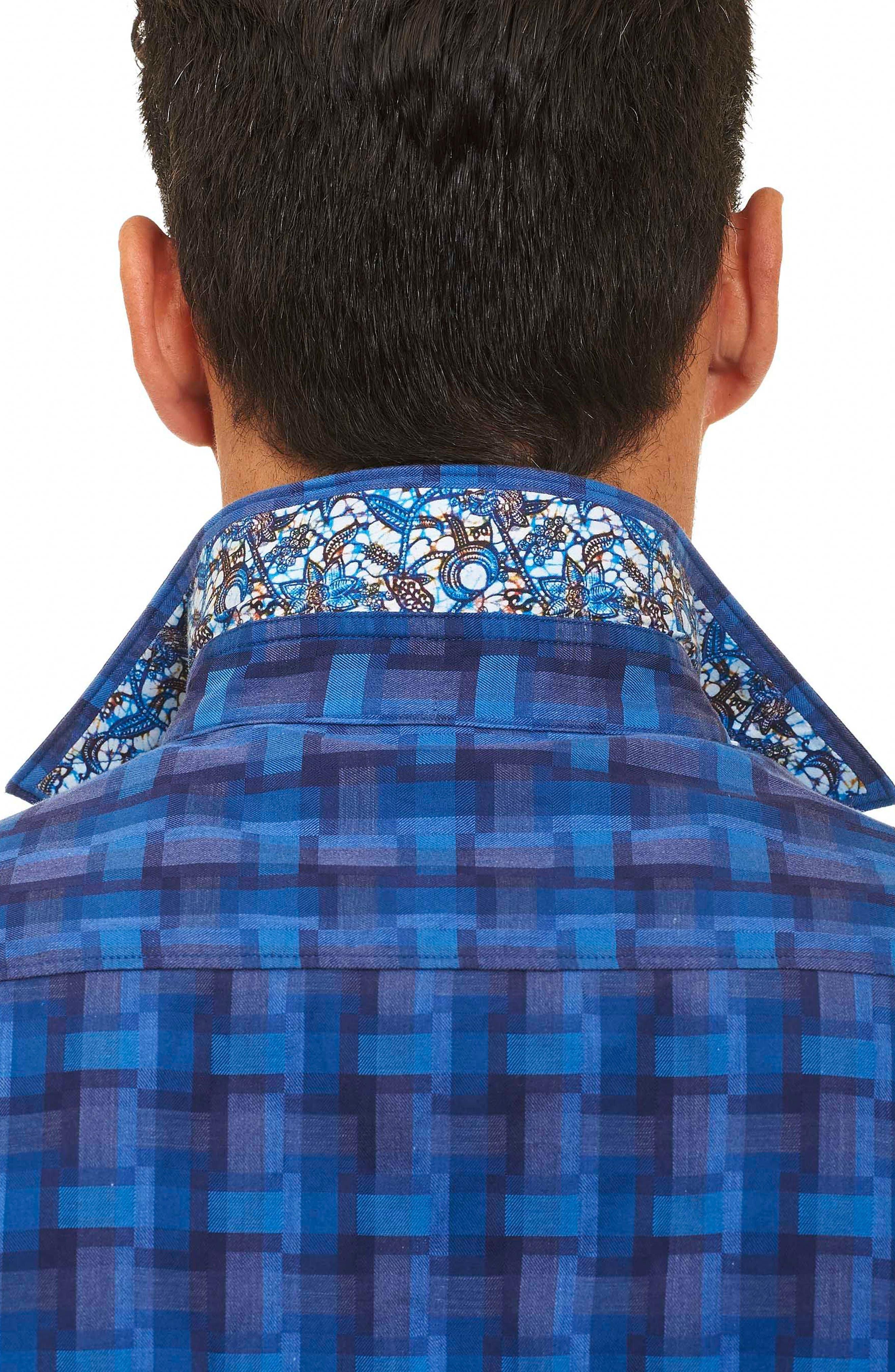 Alternate Image 4  - Robert Graham Burman Classic Fit Sport Shirt