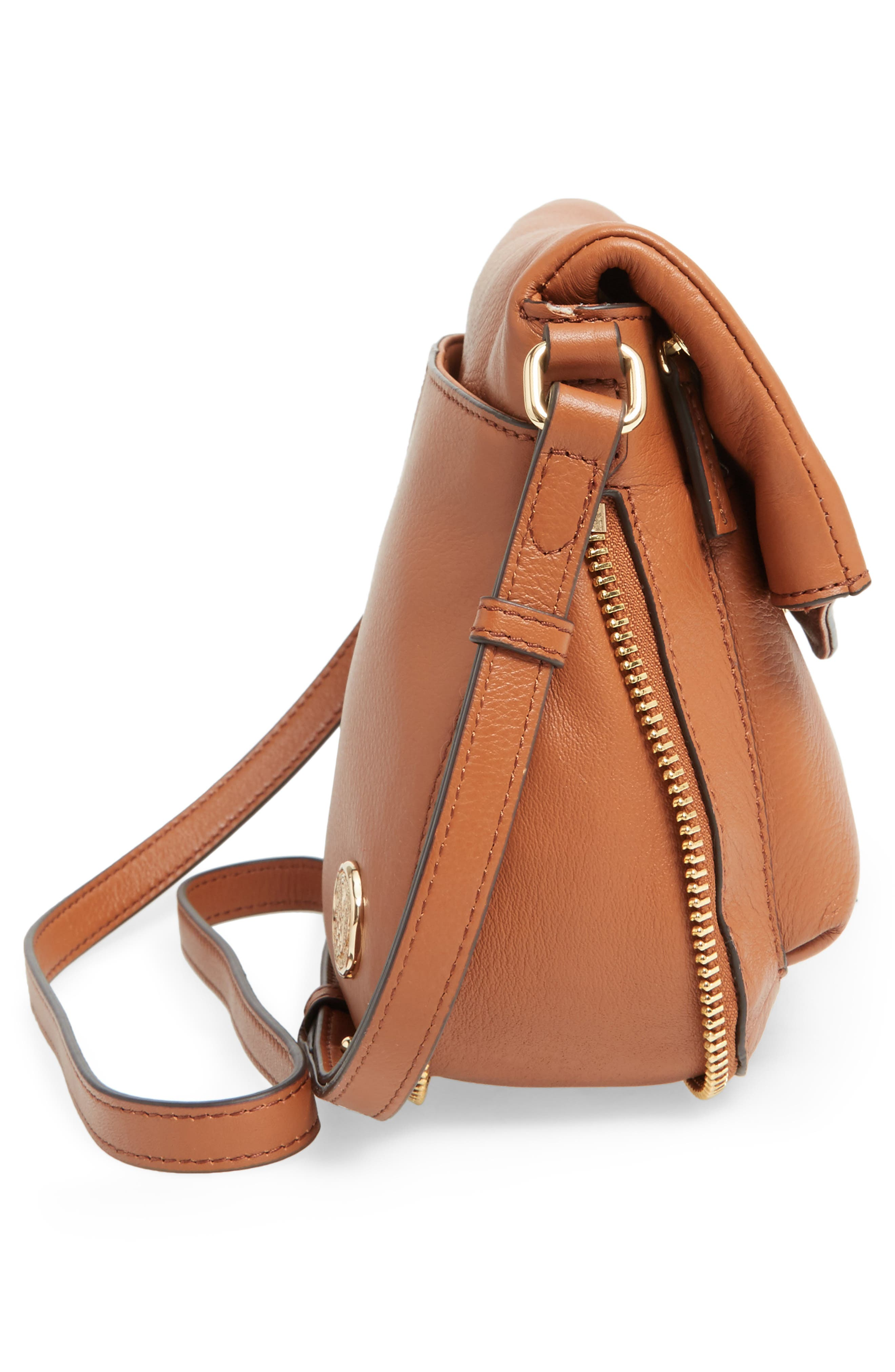 Alternate Image 5  - Vince Camuto Dafni Leather Crossbody (Nordstrom Exclusive)