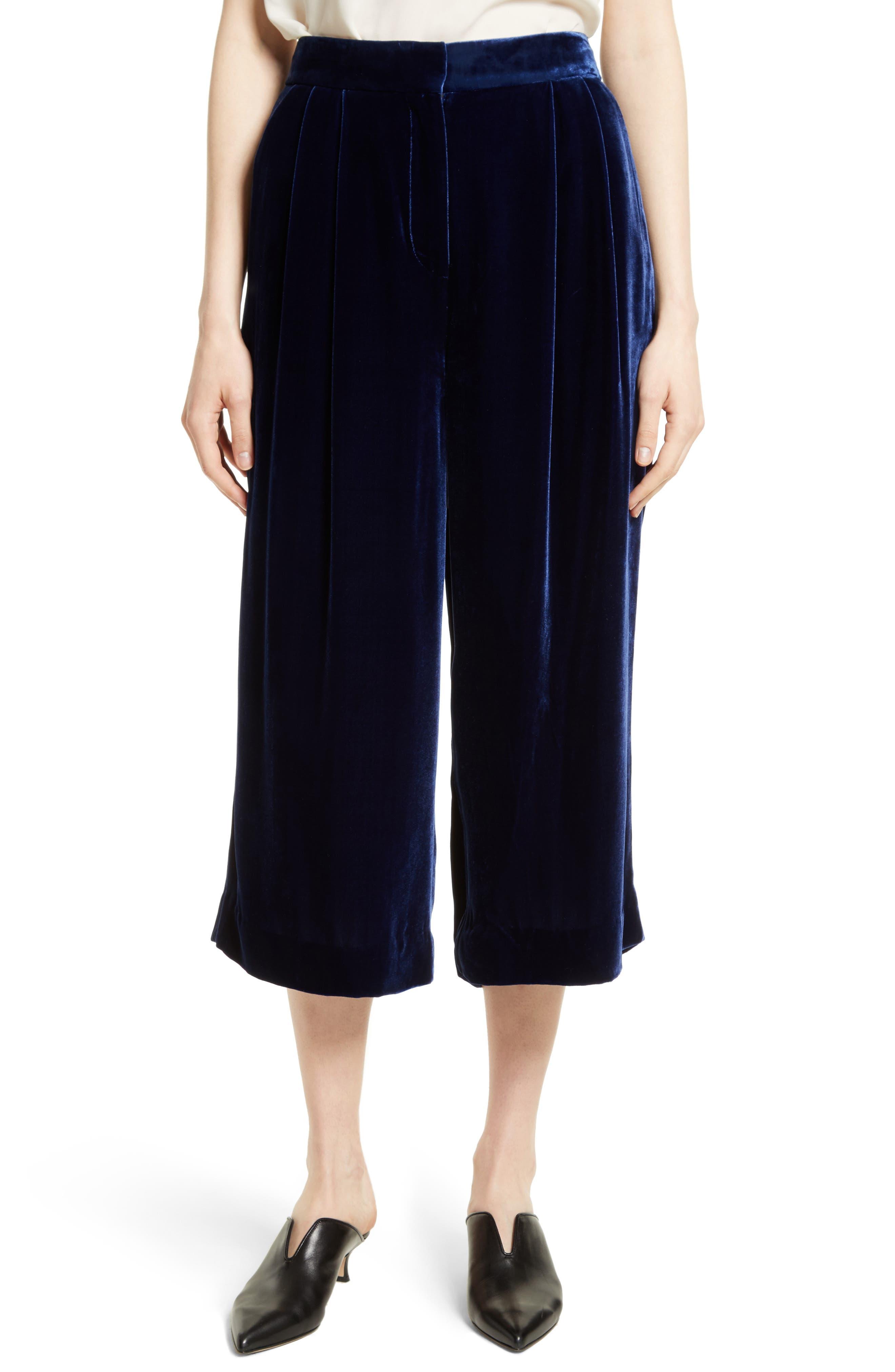 Main Image - Tibi Velvet Culottes