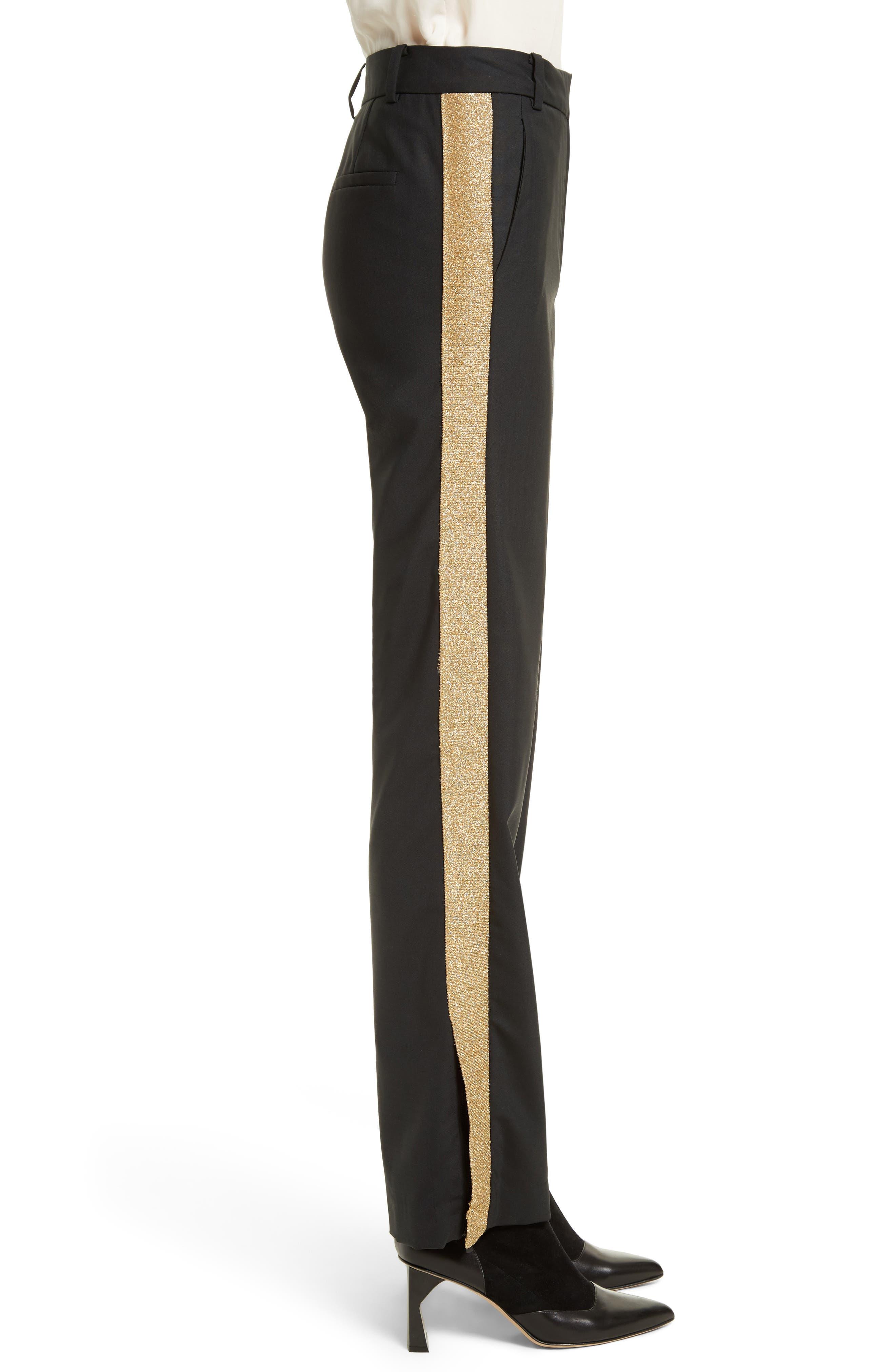 Alternate Image 5  - Tibi Tropical Blend Tuxedo Pants