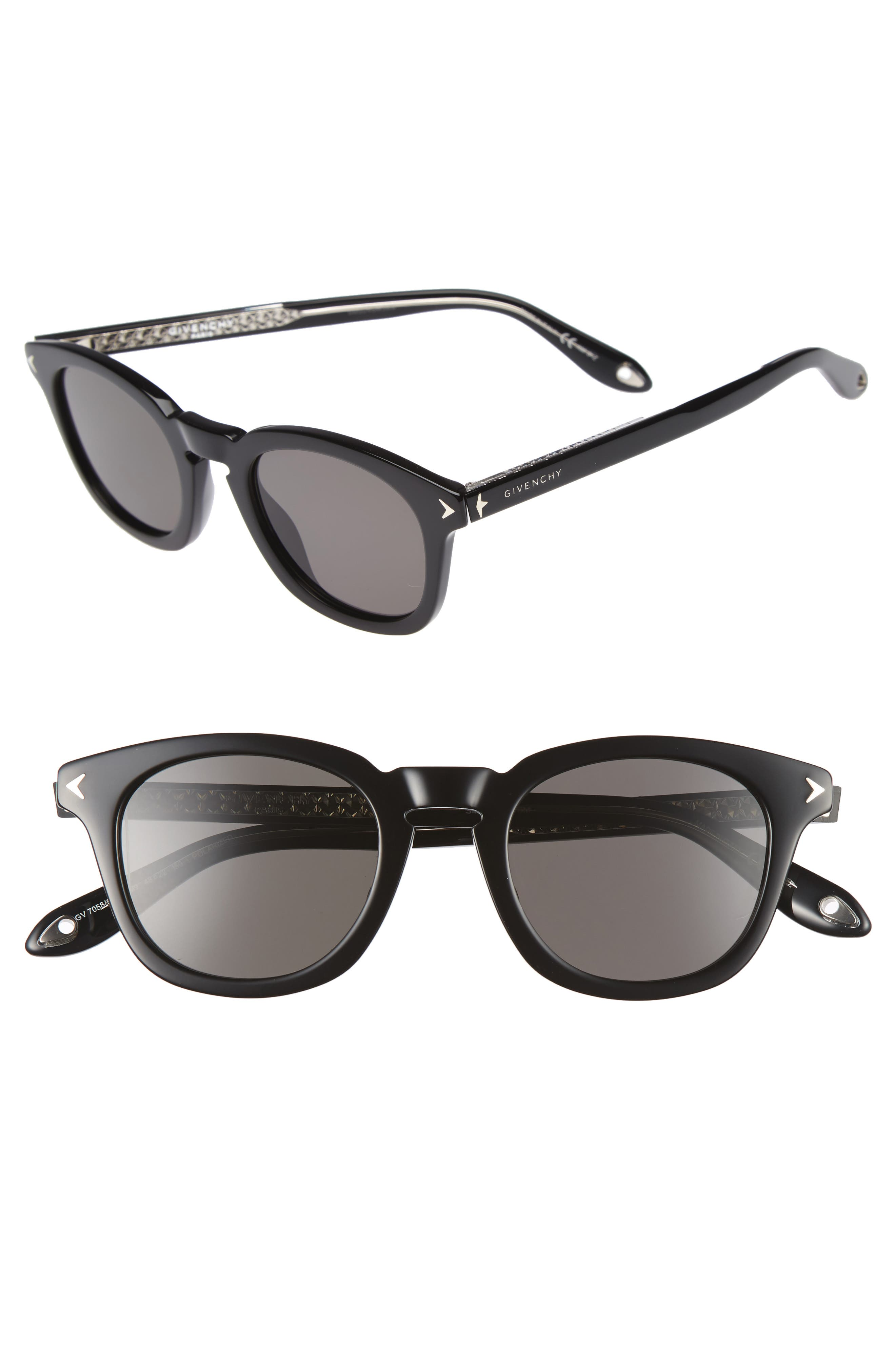 Givenchy 48mm Polarized Sunglasses