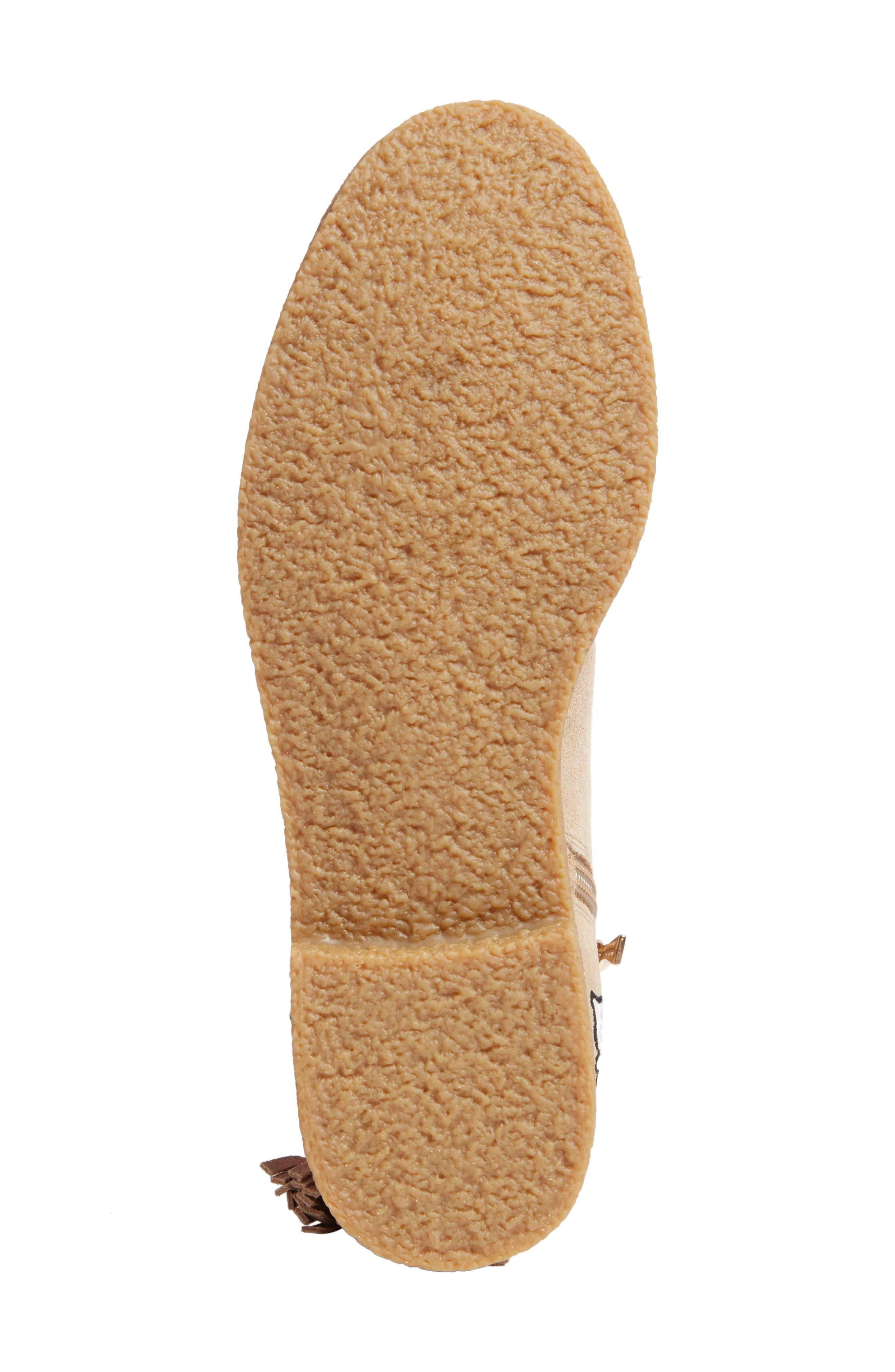 belleville bootie,                             Alternate thumbnail 6, color,                             Desert Cow Suede