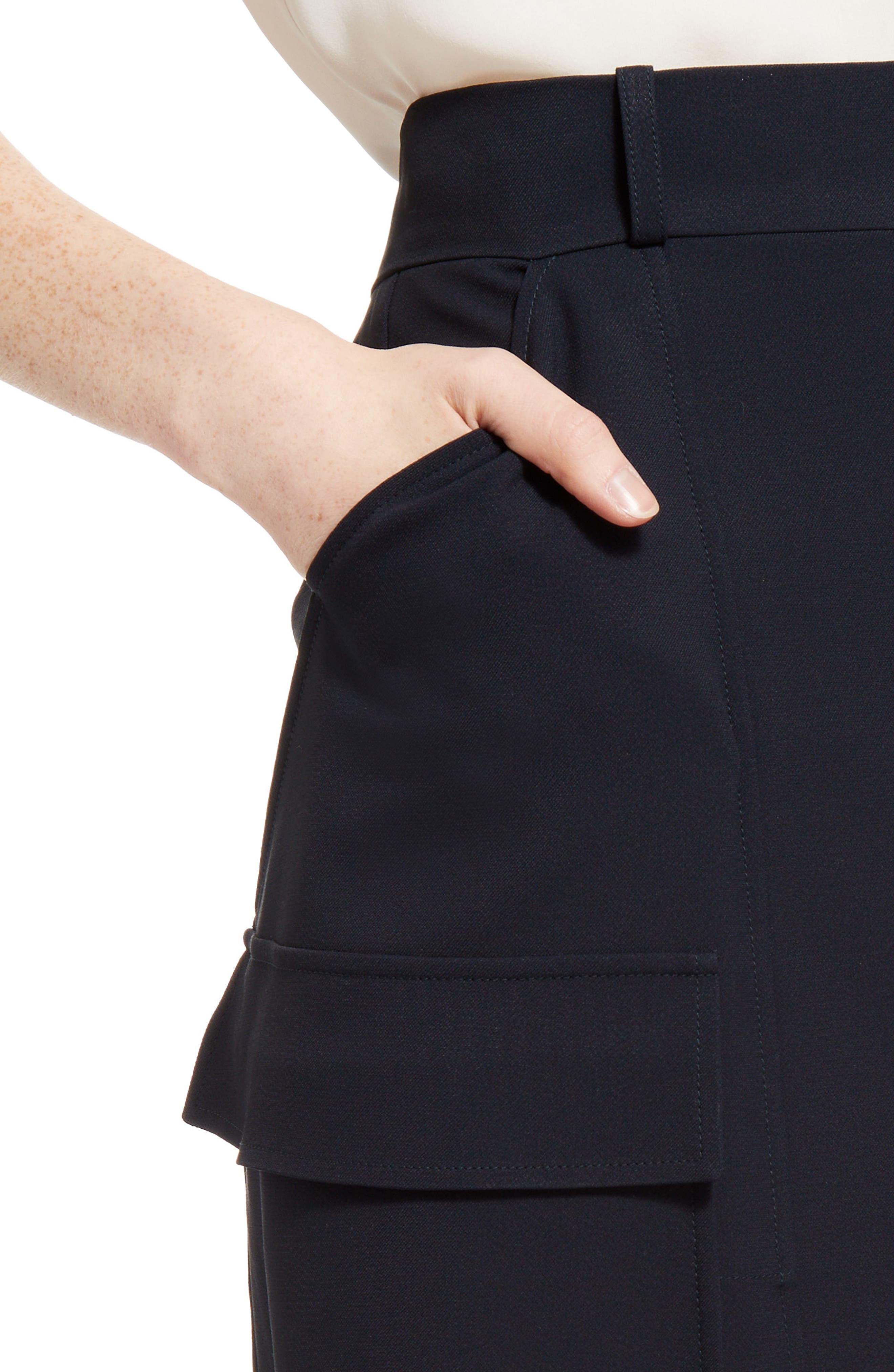 Cady Skirt,                             Alternate thumbnail 6, color,                             Blue