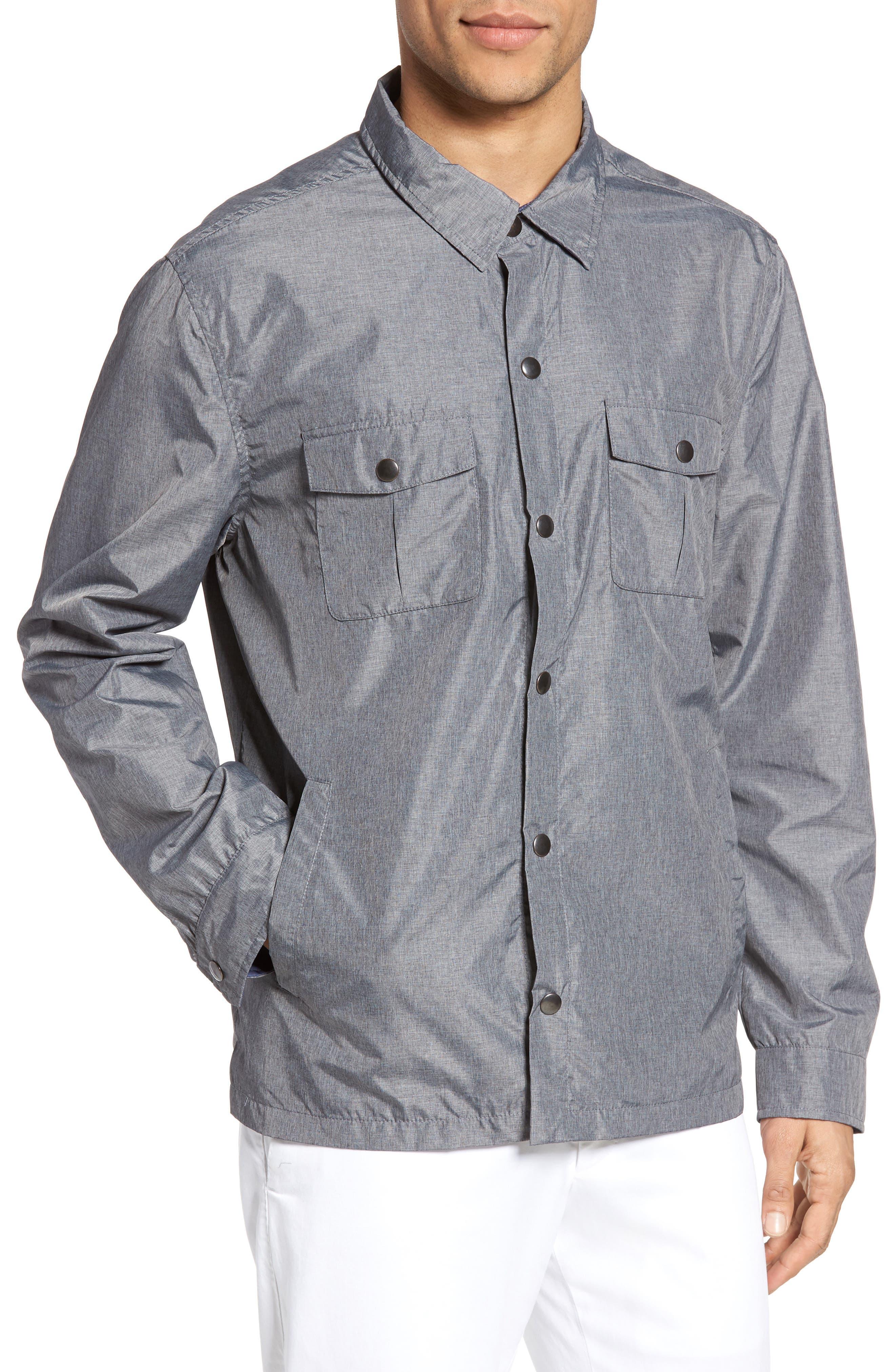 Alternate Image 4  - Zachary Prell Aronia Snap Front Jacket