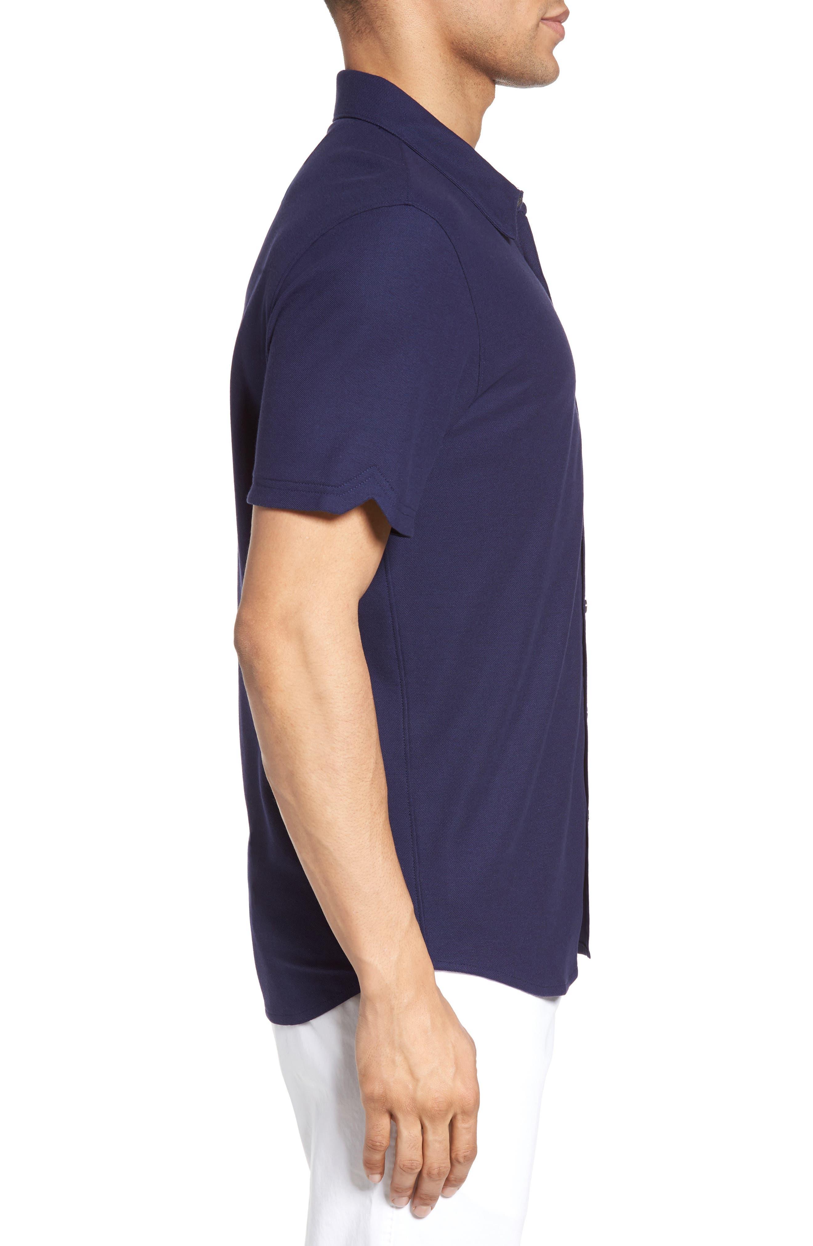Alternate Image 3  - Zachary Prell Palmetto Pima Cotton Shirt