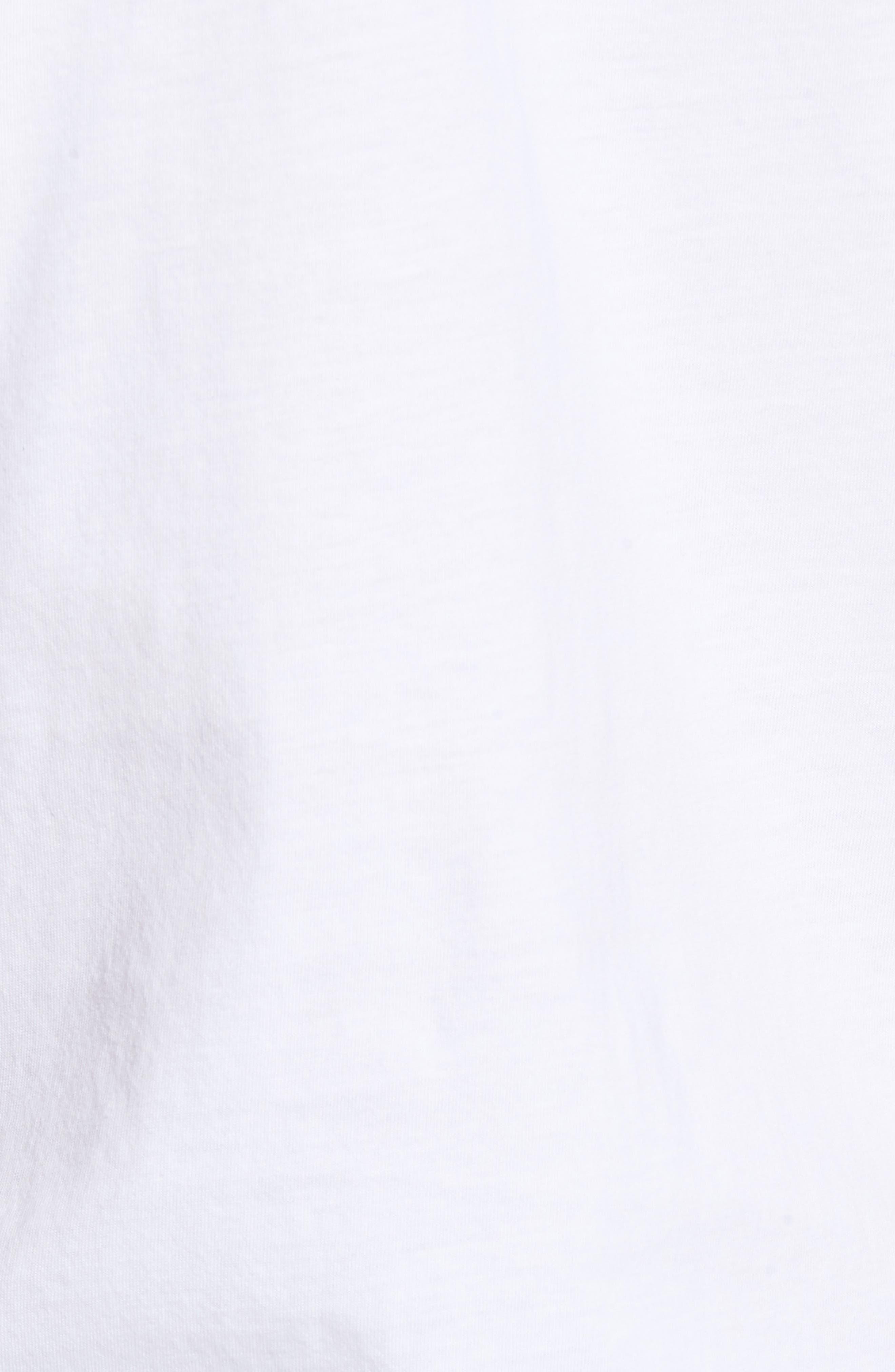 Libani Zip Polo,                             Alternate thumbnail 5, color,                             White