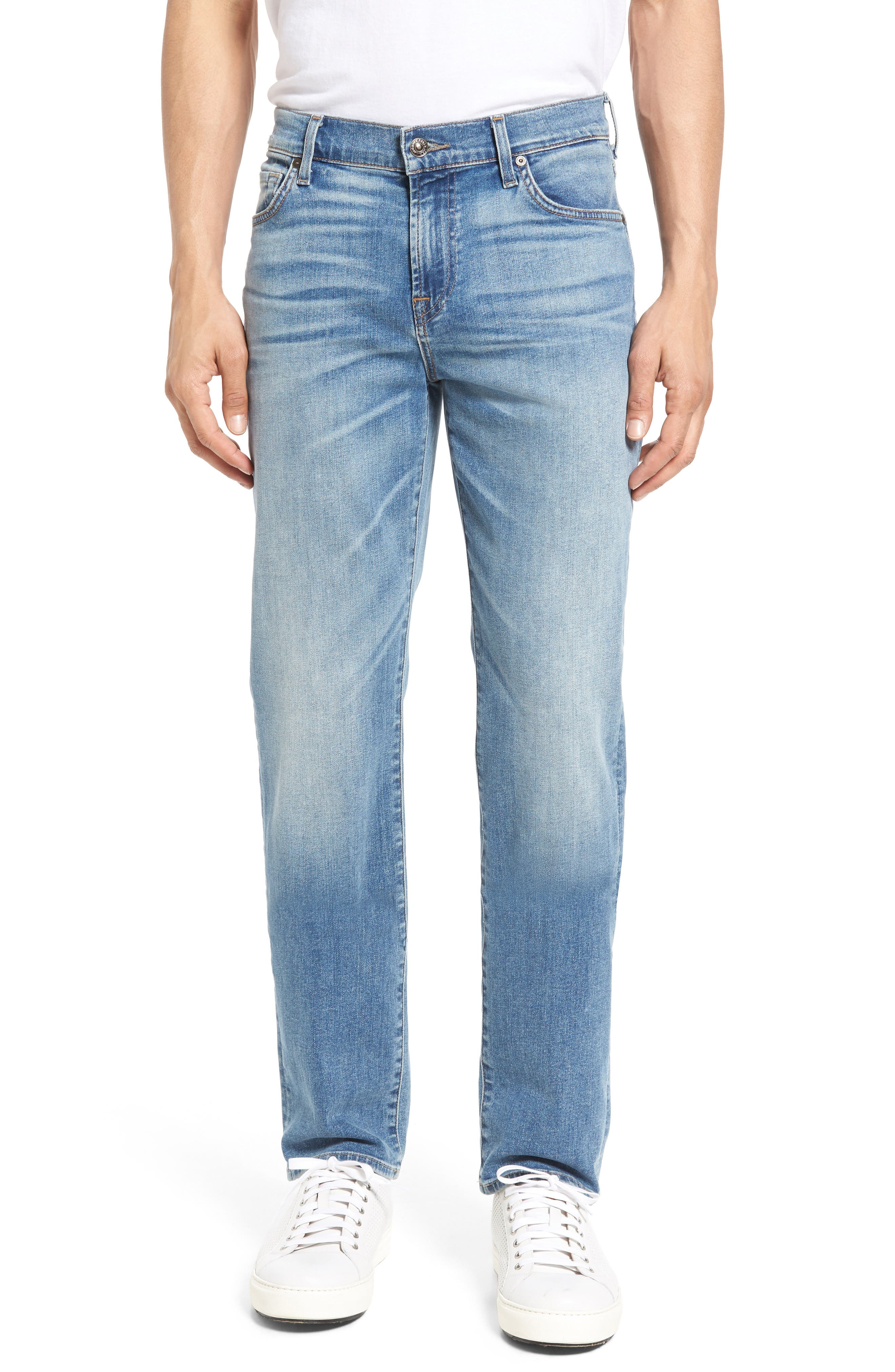 7 FOR ALL MANKIND<SUP>®</SUP> Slimmy Luxe Performance Slim Fit Jeans