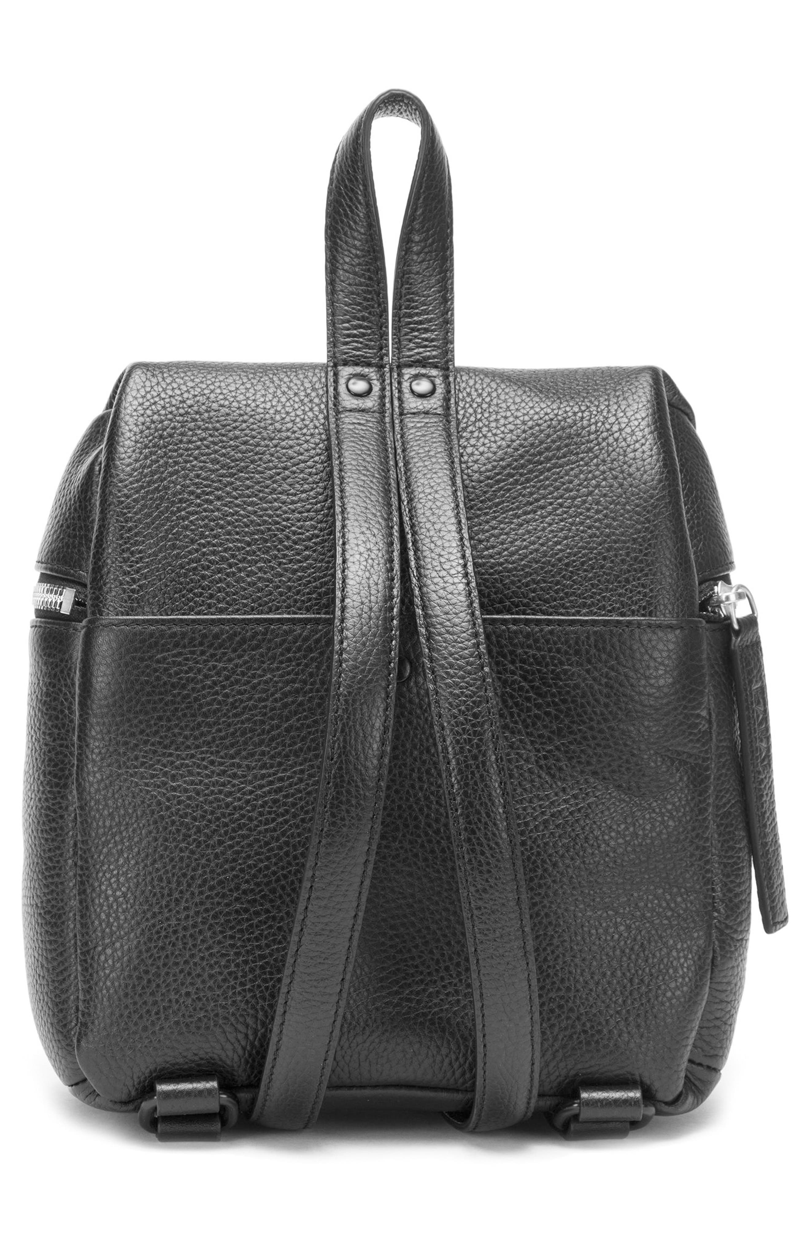 Alternate Image 2  - KARA Small Pebbled Leather Backpack