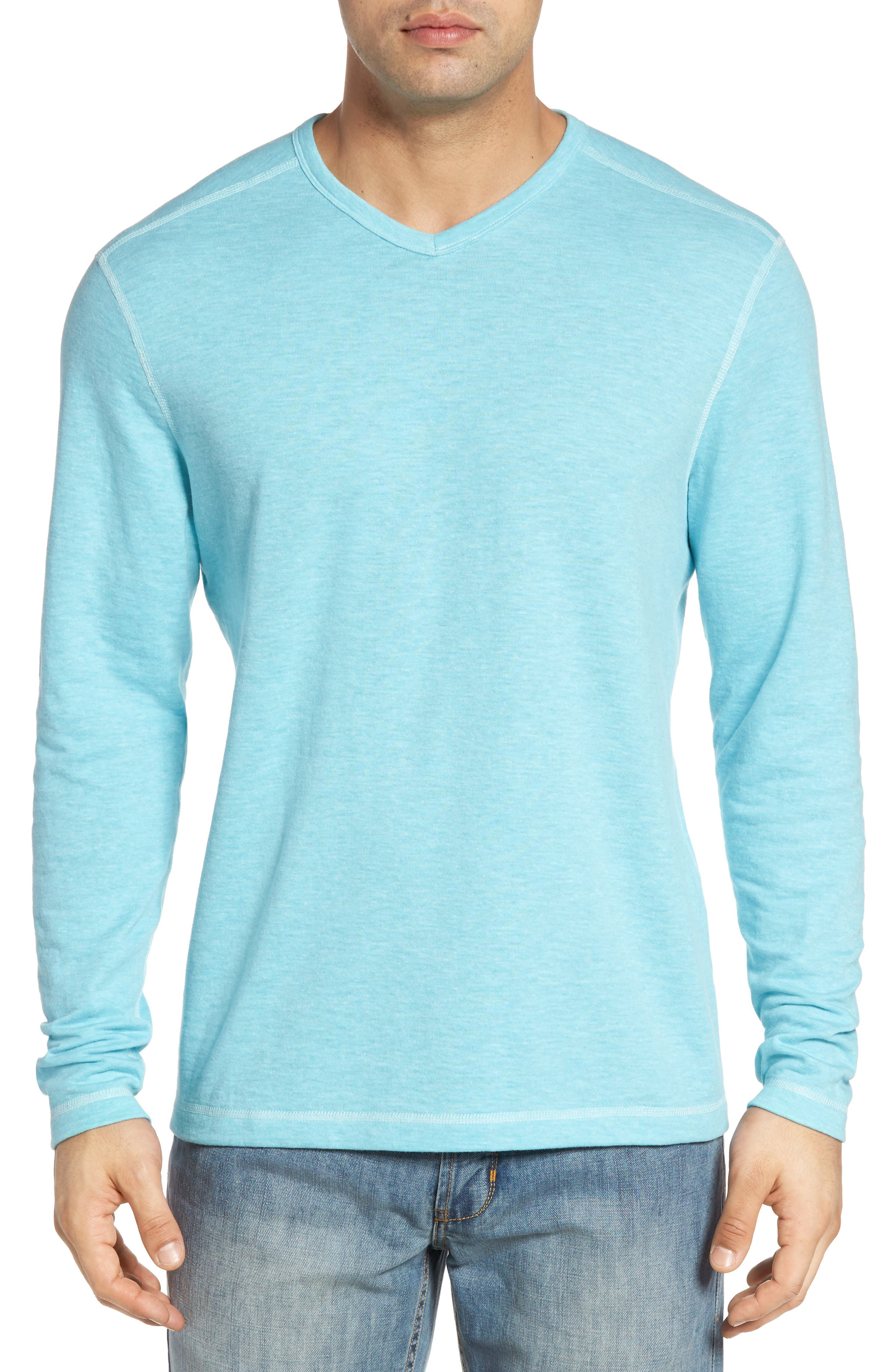 Alternate Image 4  - Tommy Bahama Seaglass Reversible T-Shirt