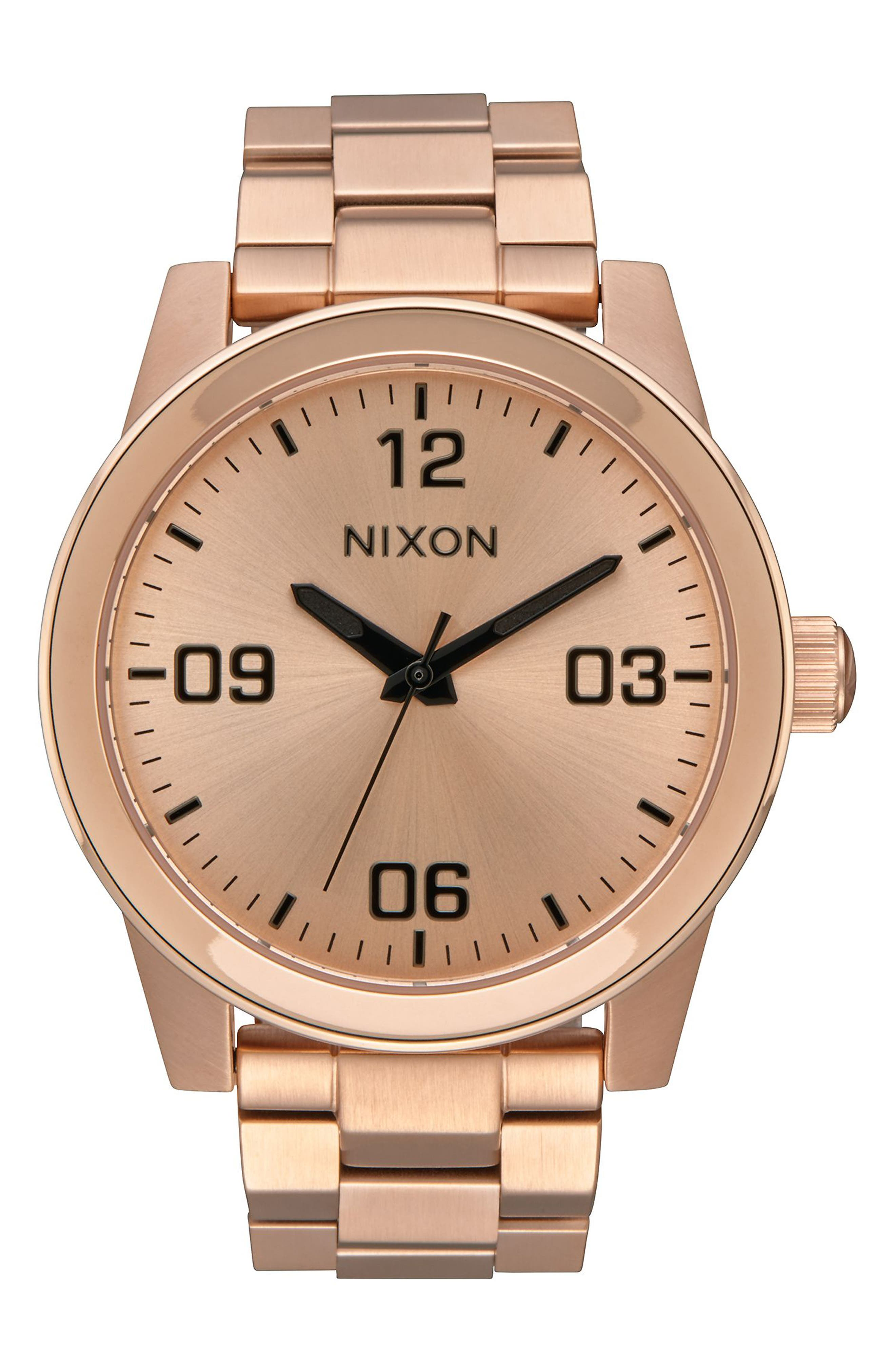 Alternate Image 1 Selected - Nixon GI Bracelet Watch, 36mm
