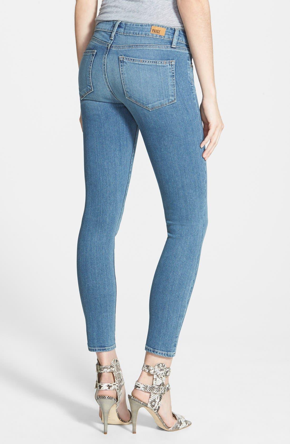 Alternate Image 2  - Paige Denim 'Verdugo' Ankle Skinny Jeans (Tegan)