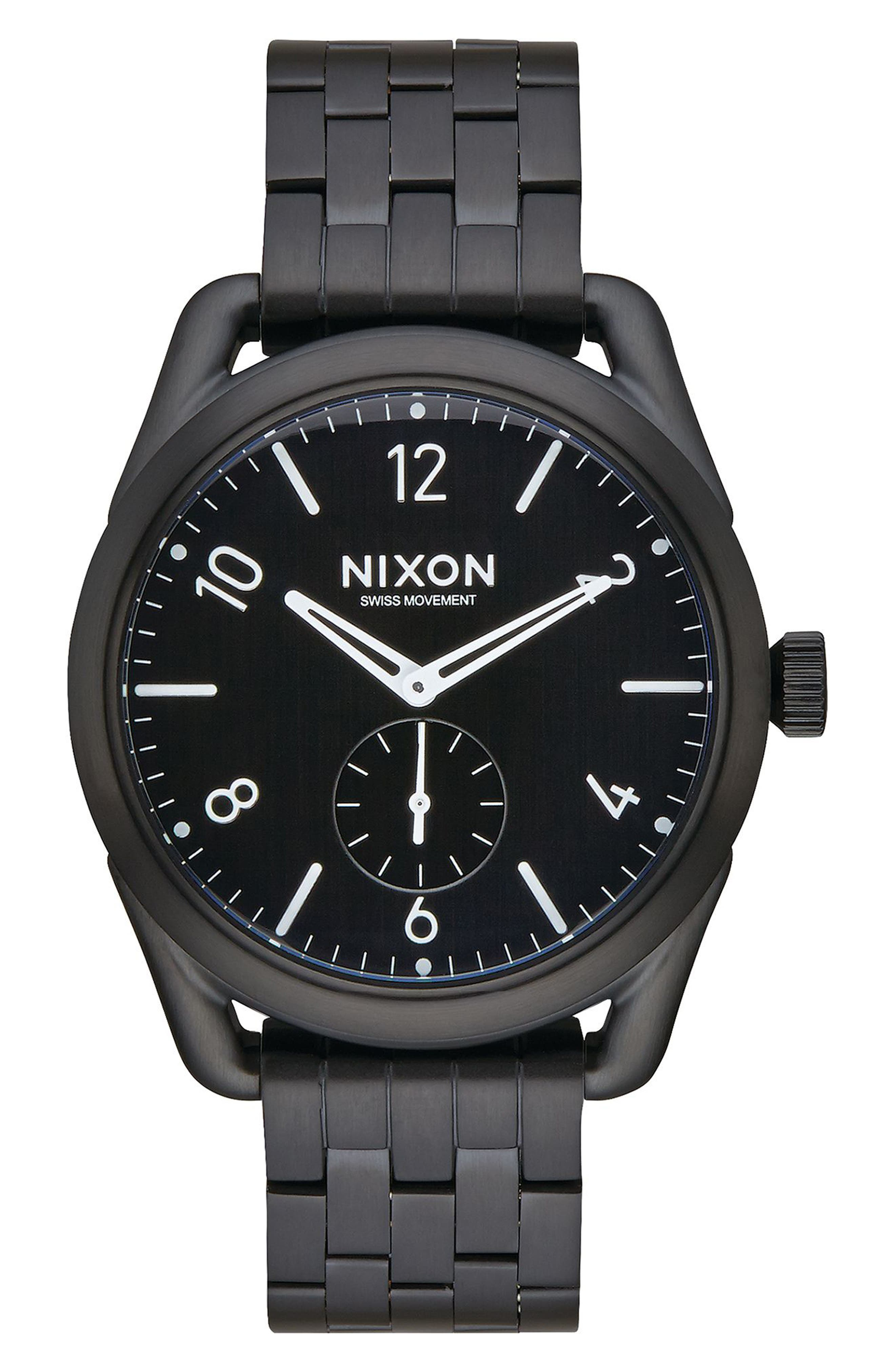 Alternate Image 1 Selected - Nixon C39 Bracelet Watch, 39mm
