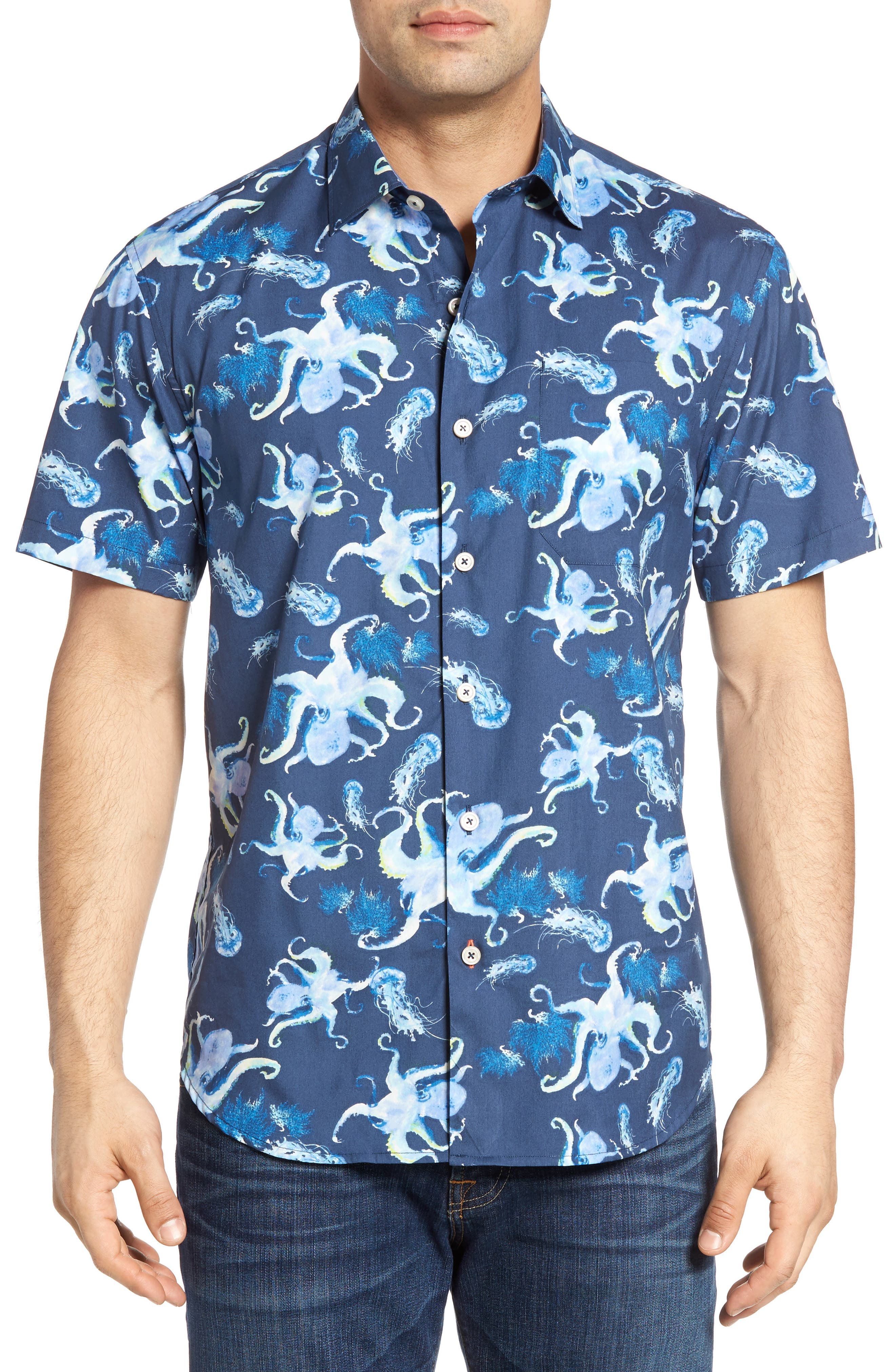 Tommy bahama cracken up camp shirt for Do tommy bahama shirts run big