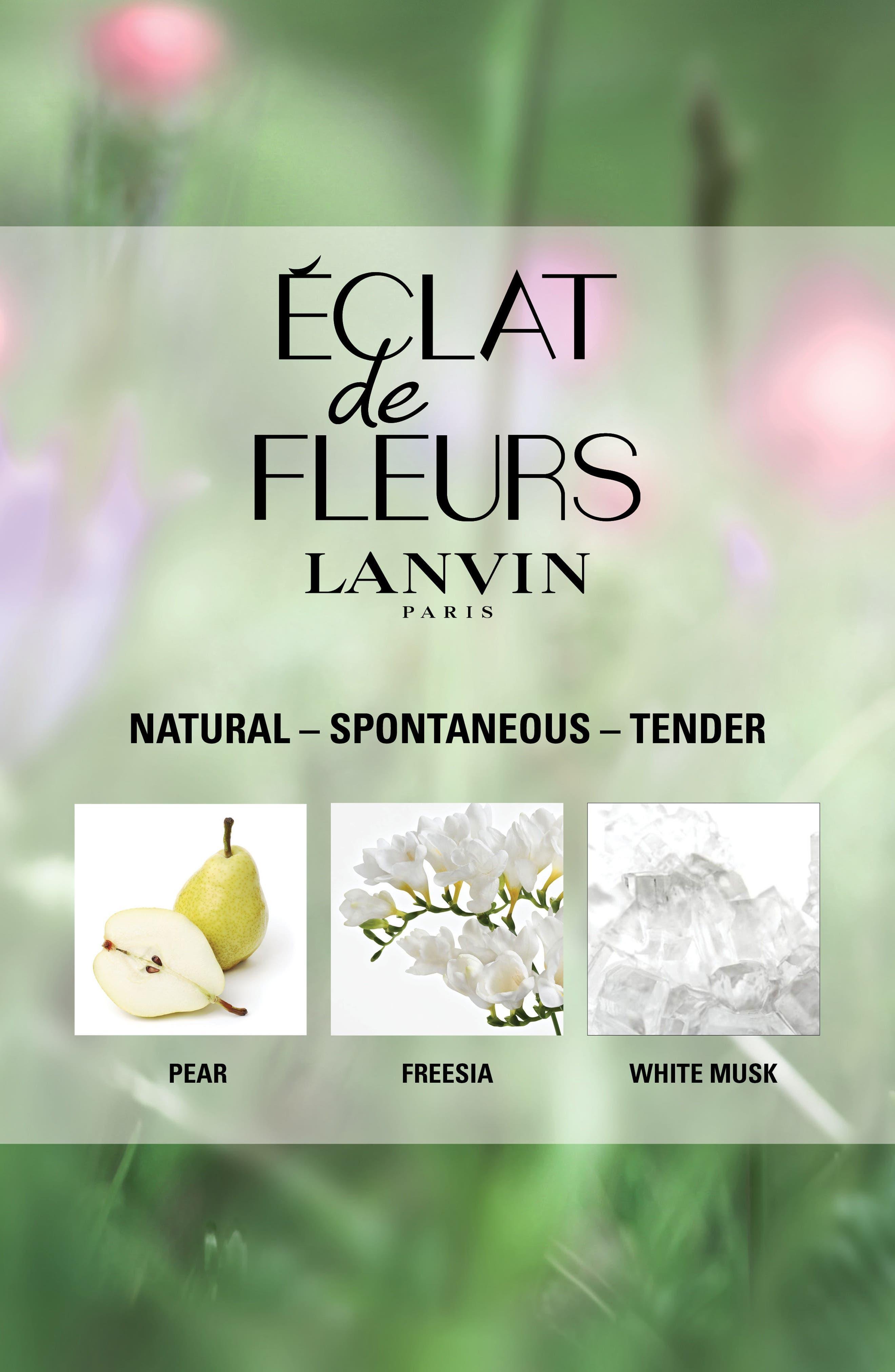 Alternate Image 2  - Lanvin Éclat de Fleurs Eau de Parfum (Nordstrom Exclusive)