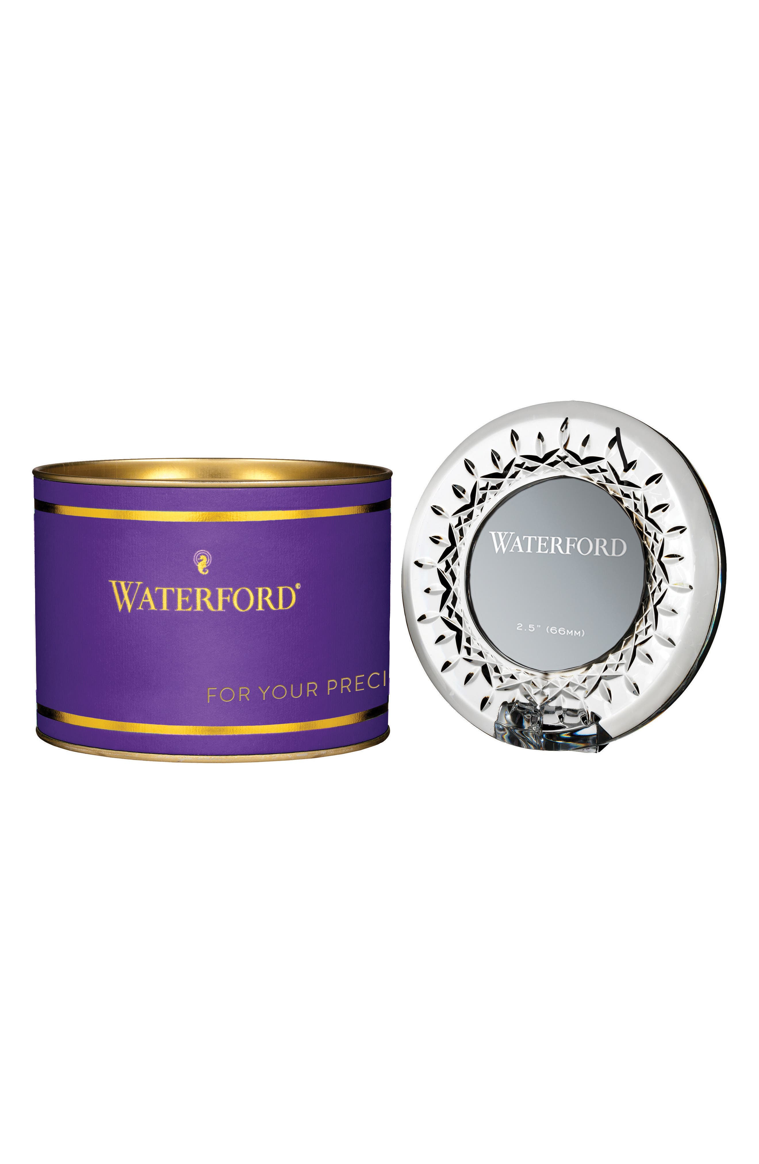 Alternate Image 2  - Waterford Giftology Lismore Lead Crystal Mini Frame