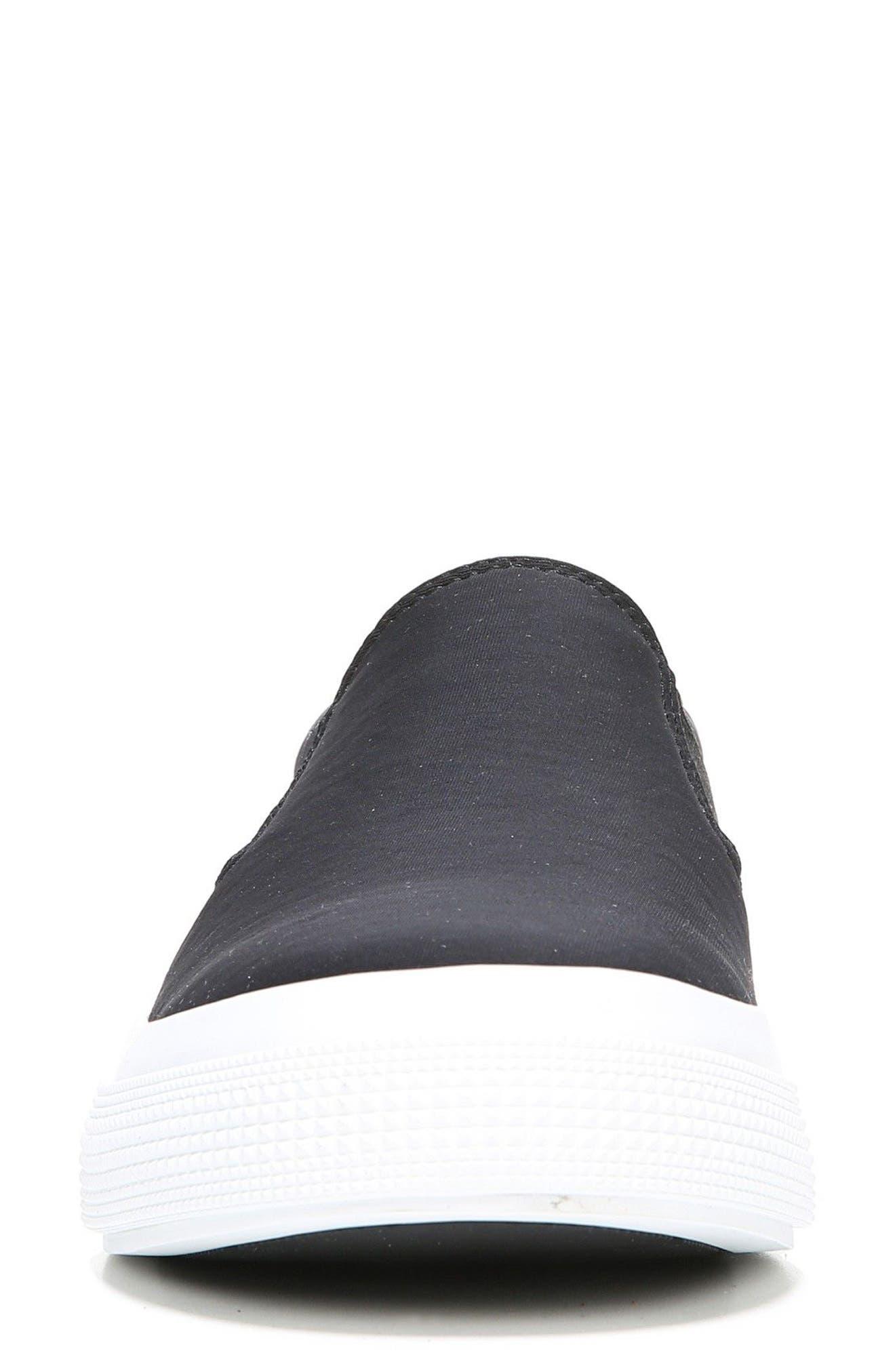 Torin Slip-On Sneaker,                             Alternate thumbnail 4, color,                             Black