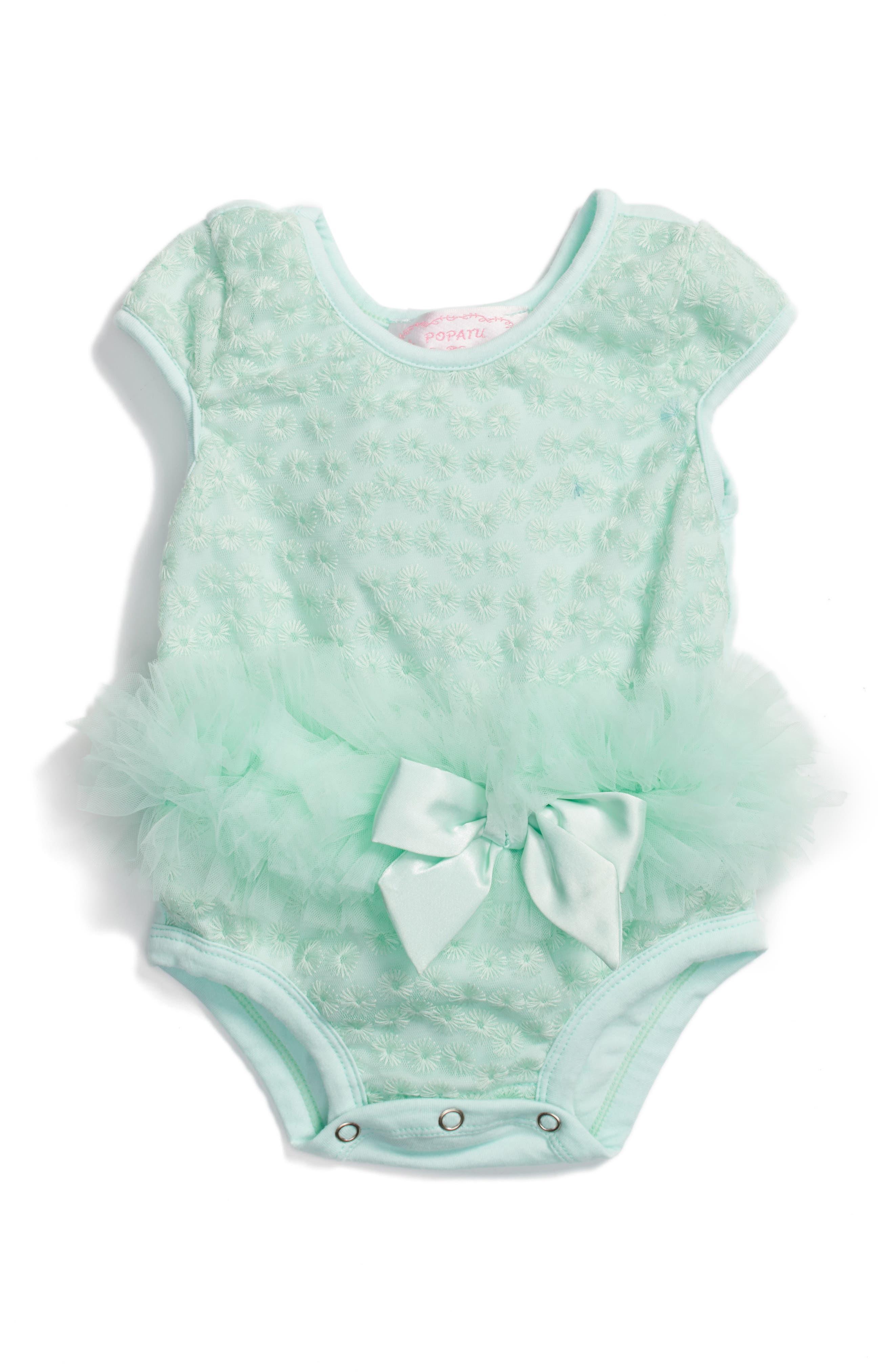 Popatu Princess Tutu Bodysuit (Baby Girls)