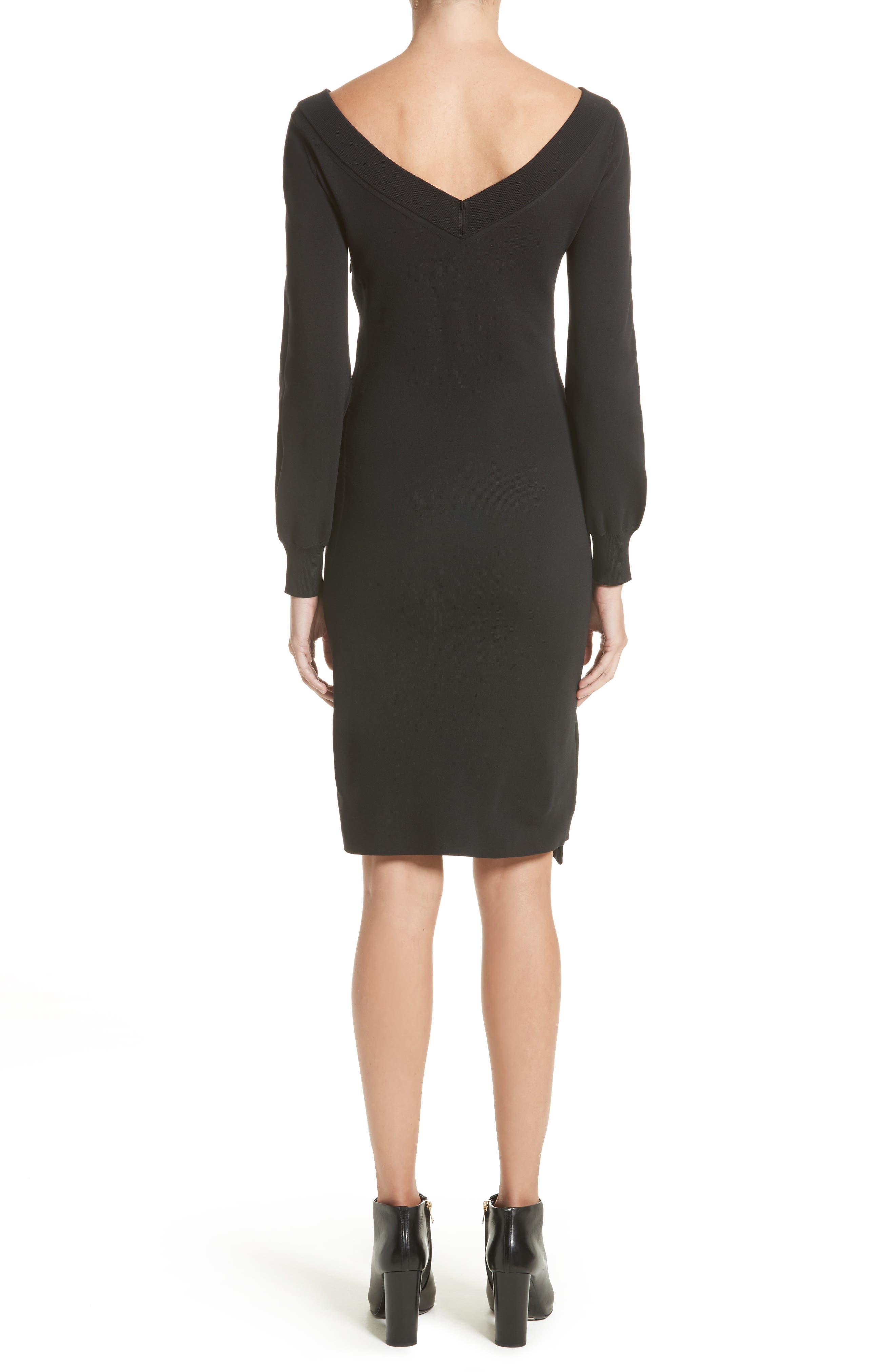 Alternate Image 2  - Burberry Marro Knit Dress