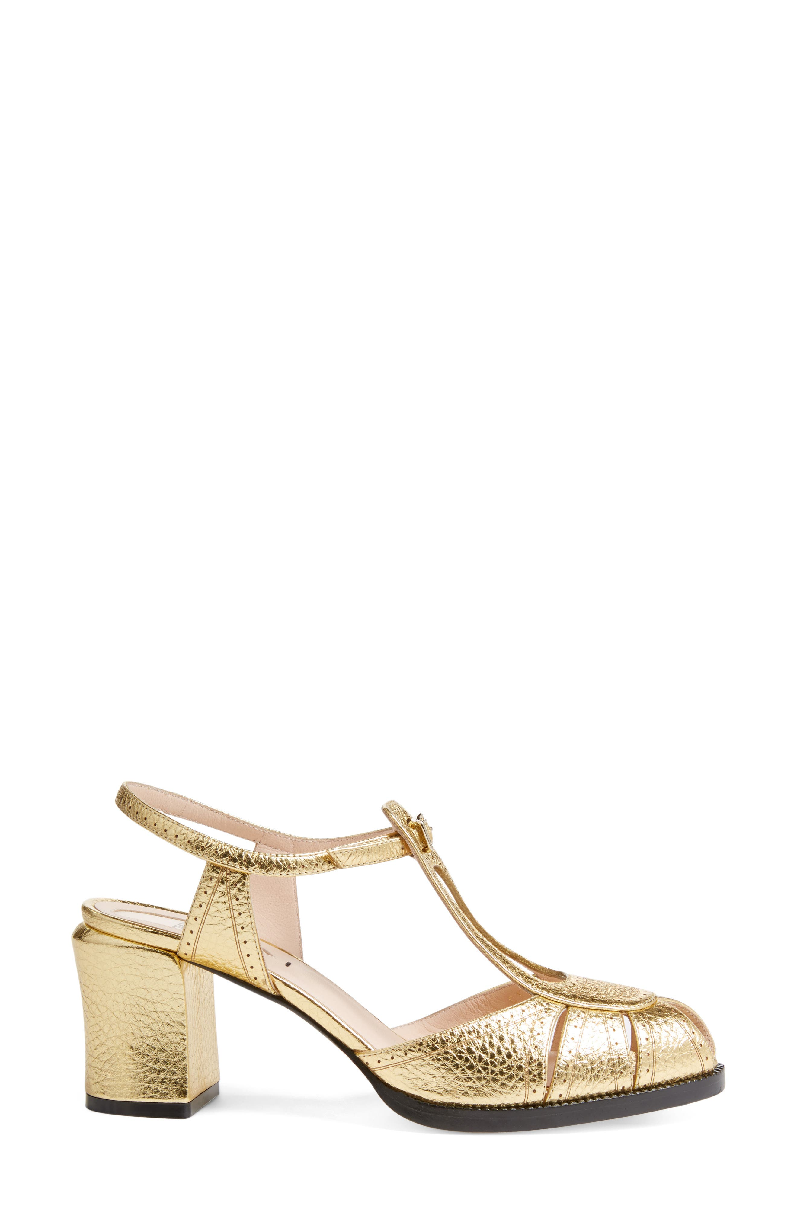 Alternate Image 3  - Fendi Chameleon Leather Sandal (Women)
