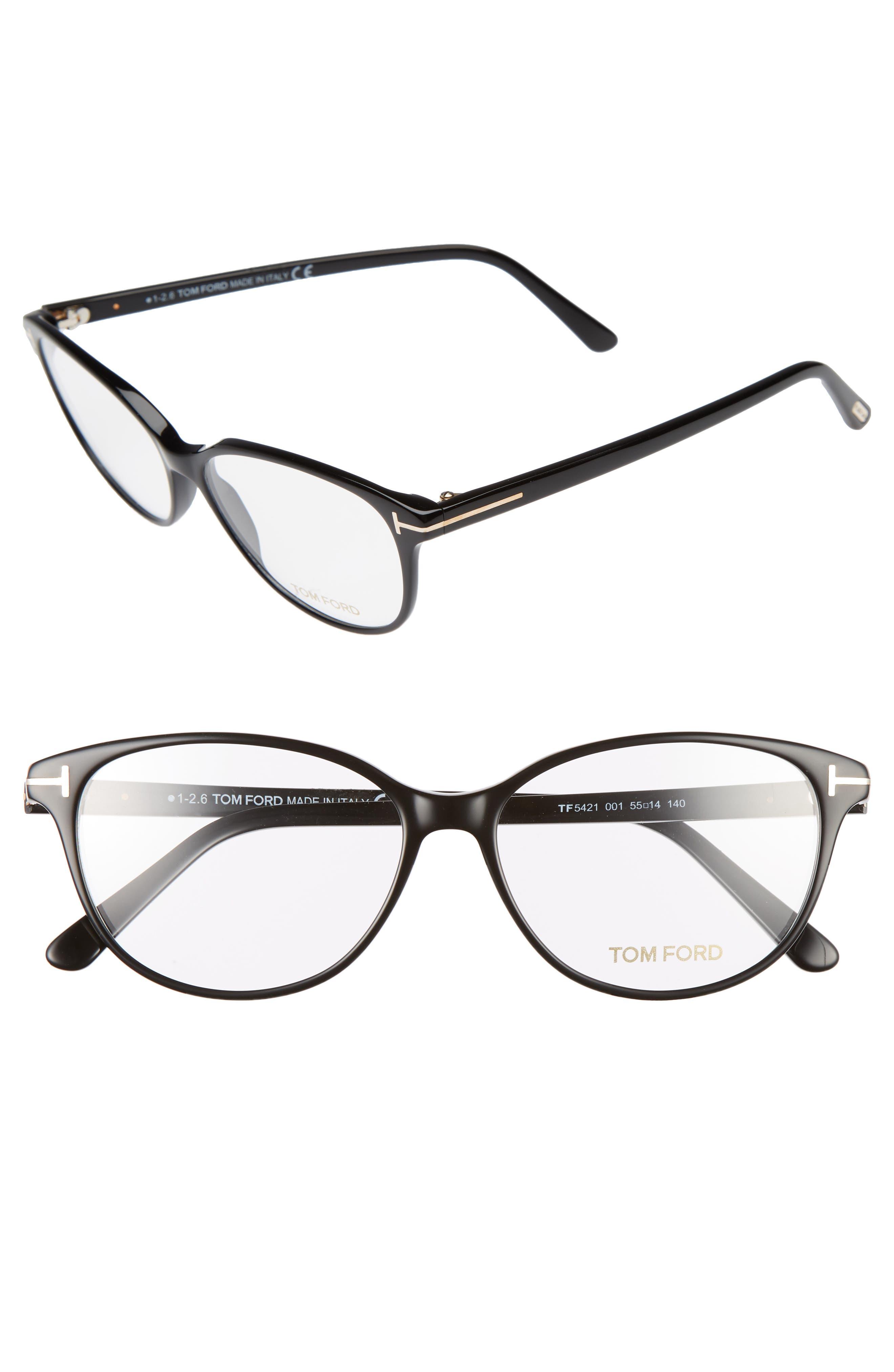 Main Image - Tom Ford 55mm Optical Glasses