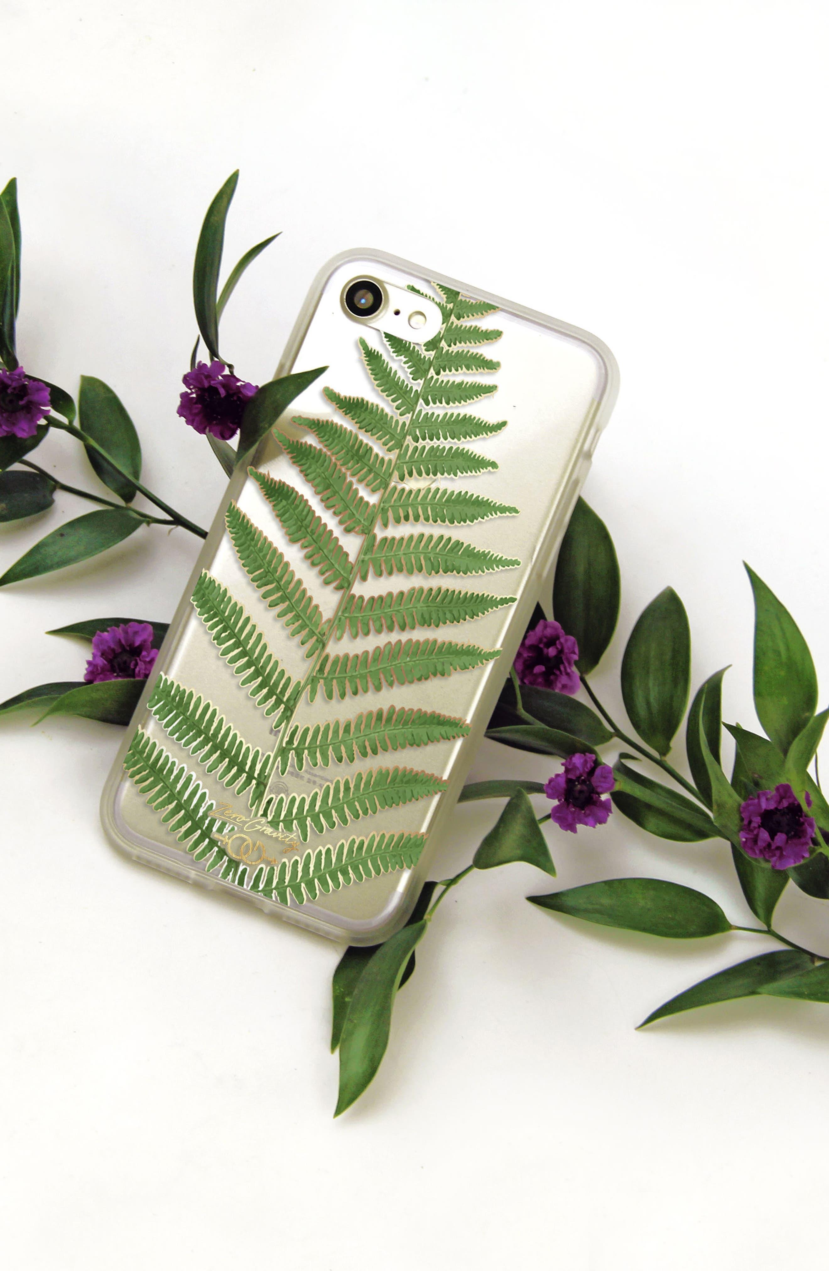 Leaf iPhone 7/8 & 7/8 Plus Case,                             Alternate thumbnail 2, color,                             Green Multi