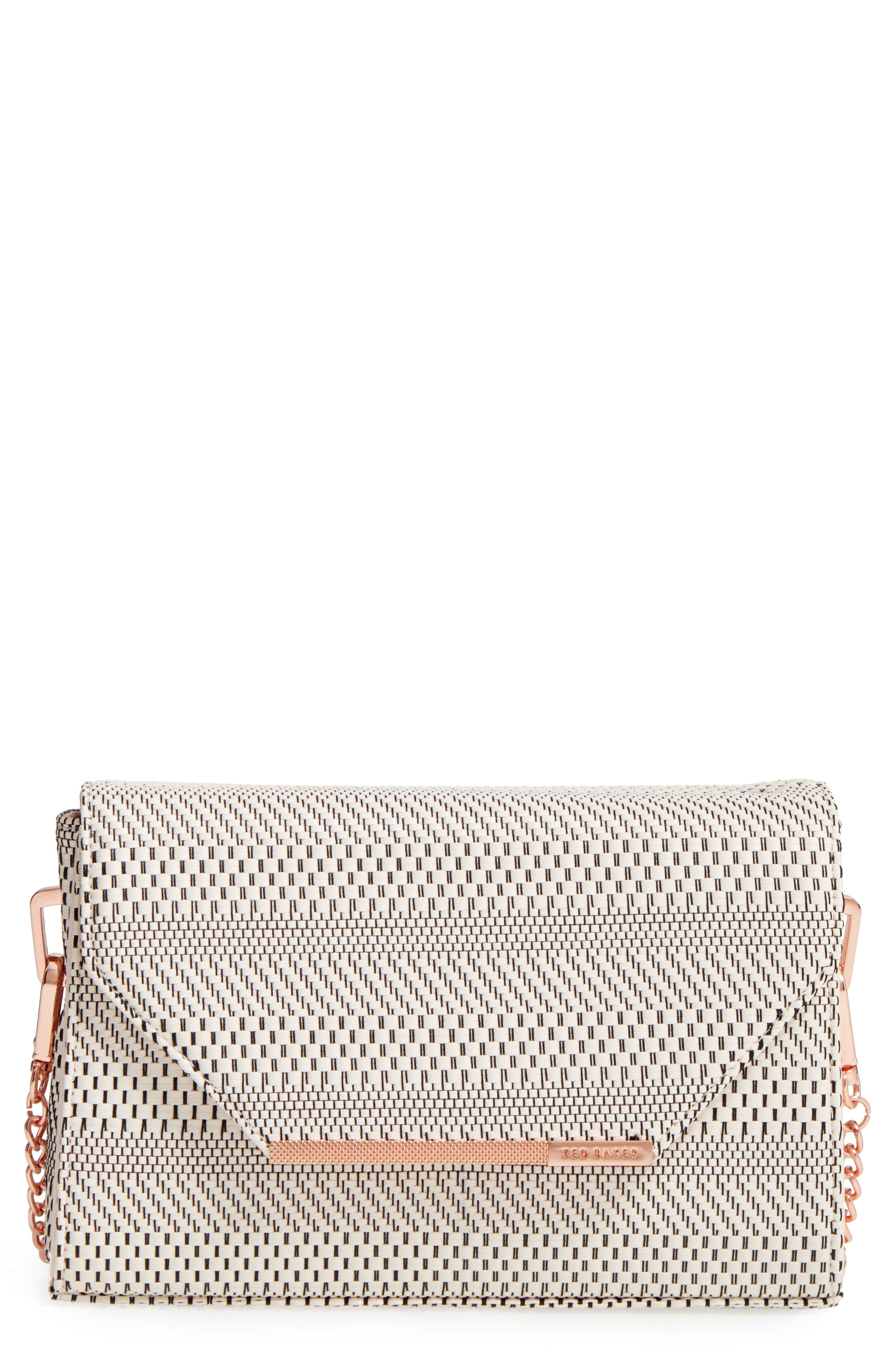Ted Baker London Woven Crossbody Bag