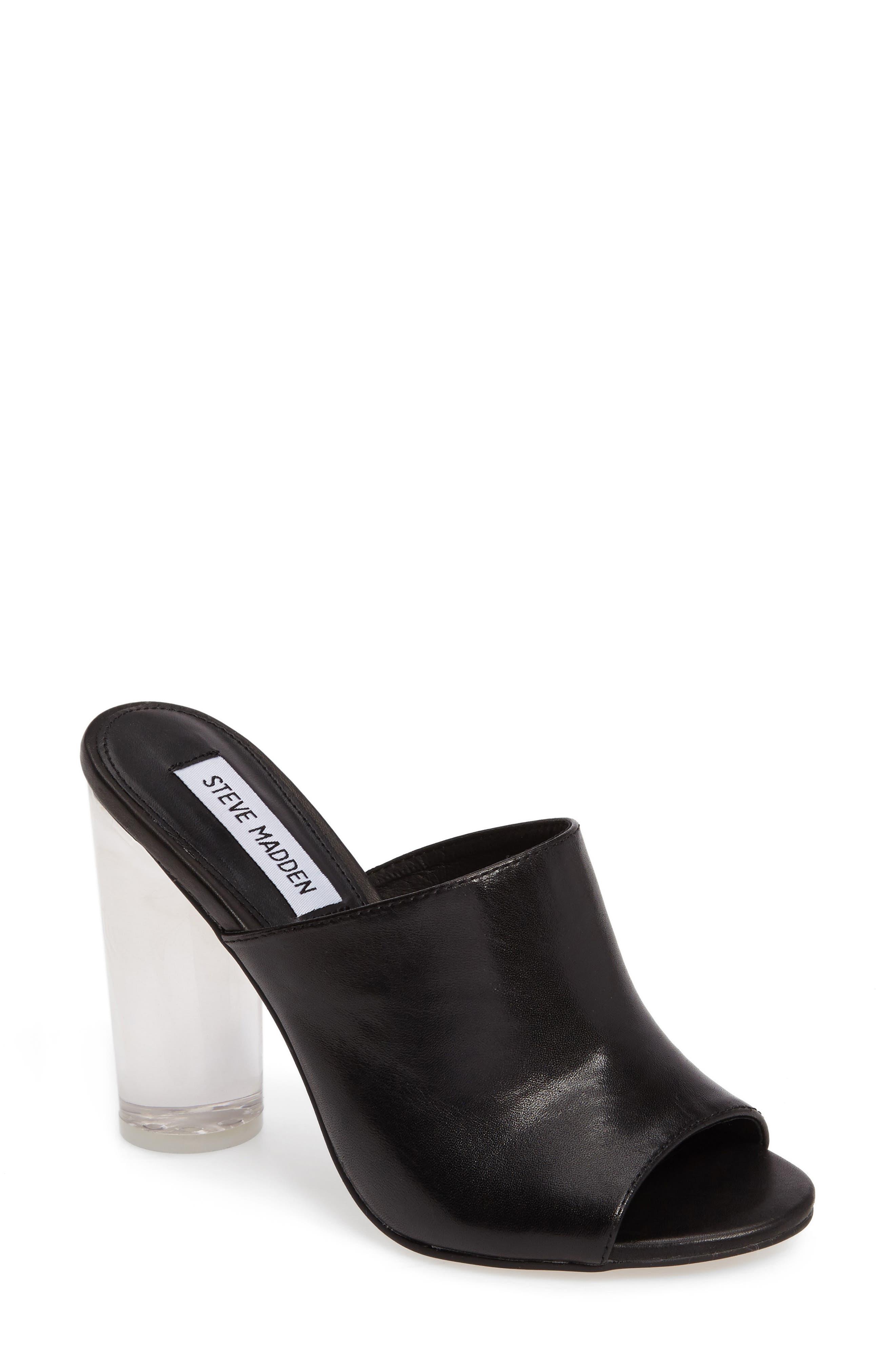 Alternate Image 1 Selected - Steve Madden Classics Mule Sandal (Women)