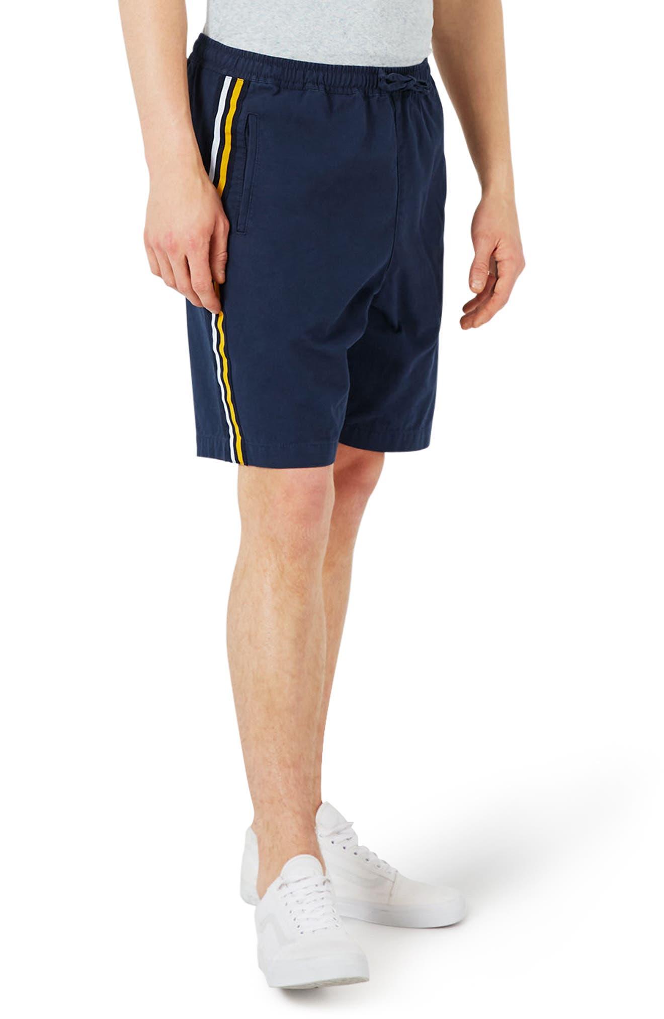 Main Image - Topman Oversize Shorts