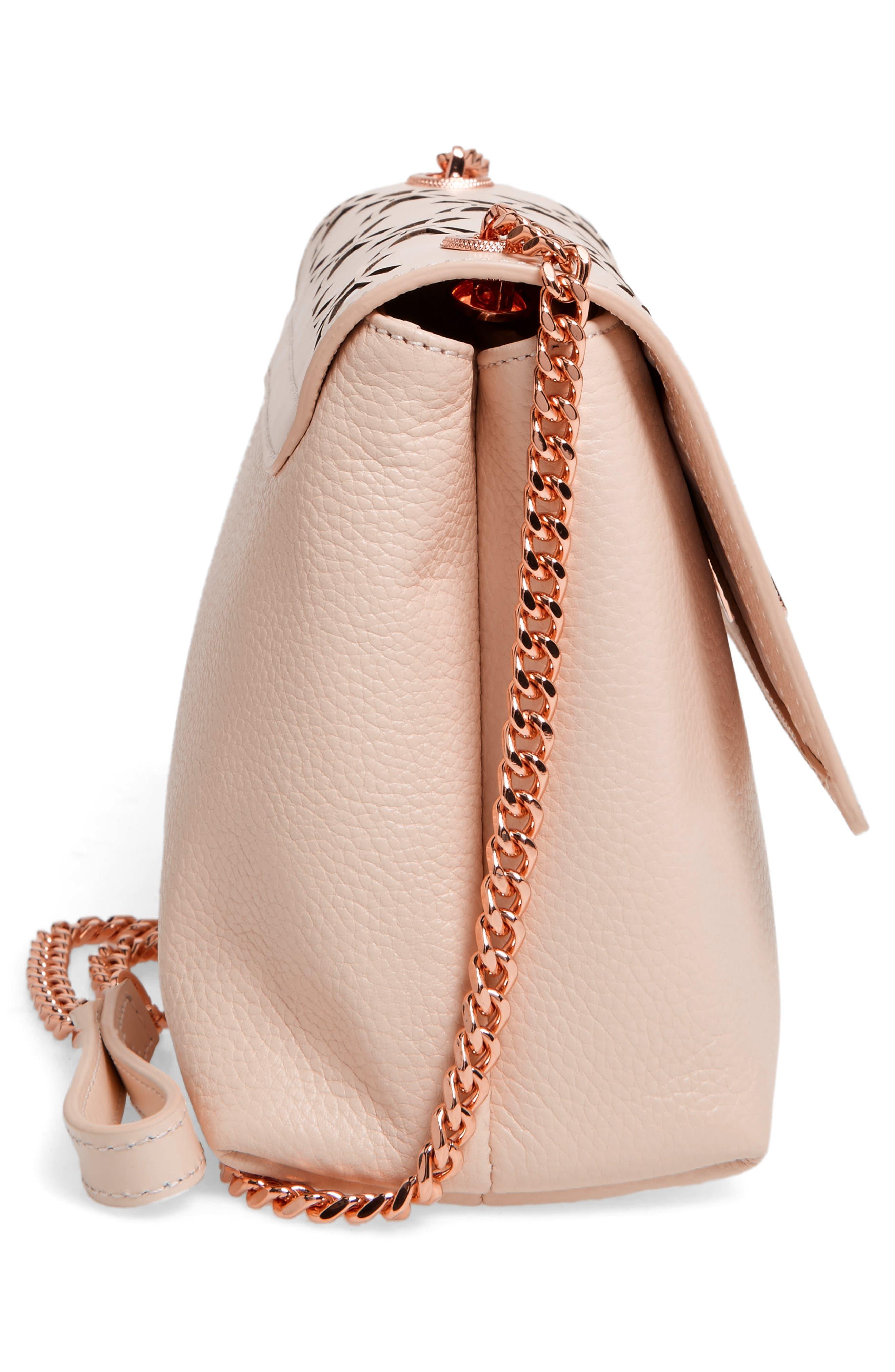 Alternate Image 5  - Ted Baker London Leather Crossbody Bag