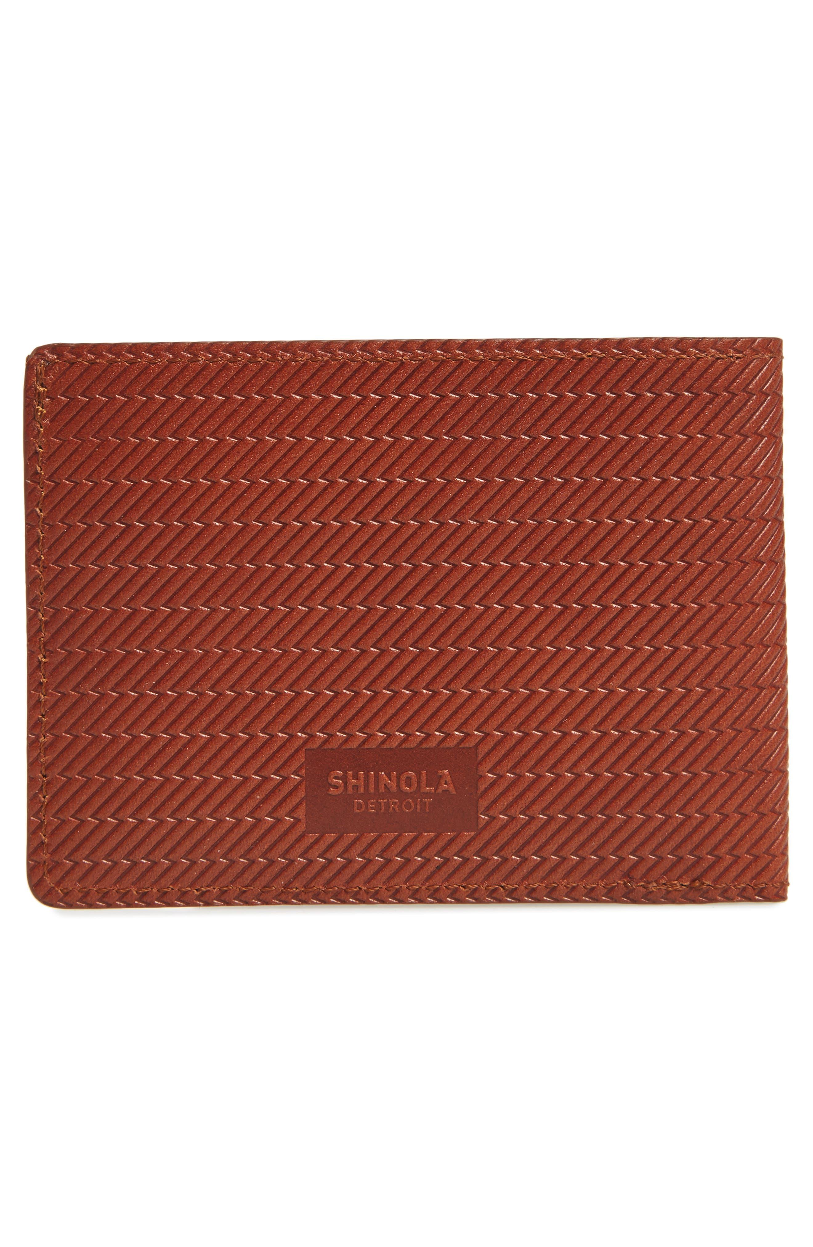 Alternate Image 3  - Shinola Leather Wallet