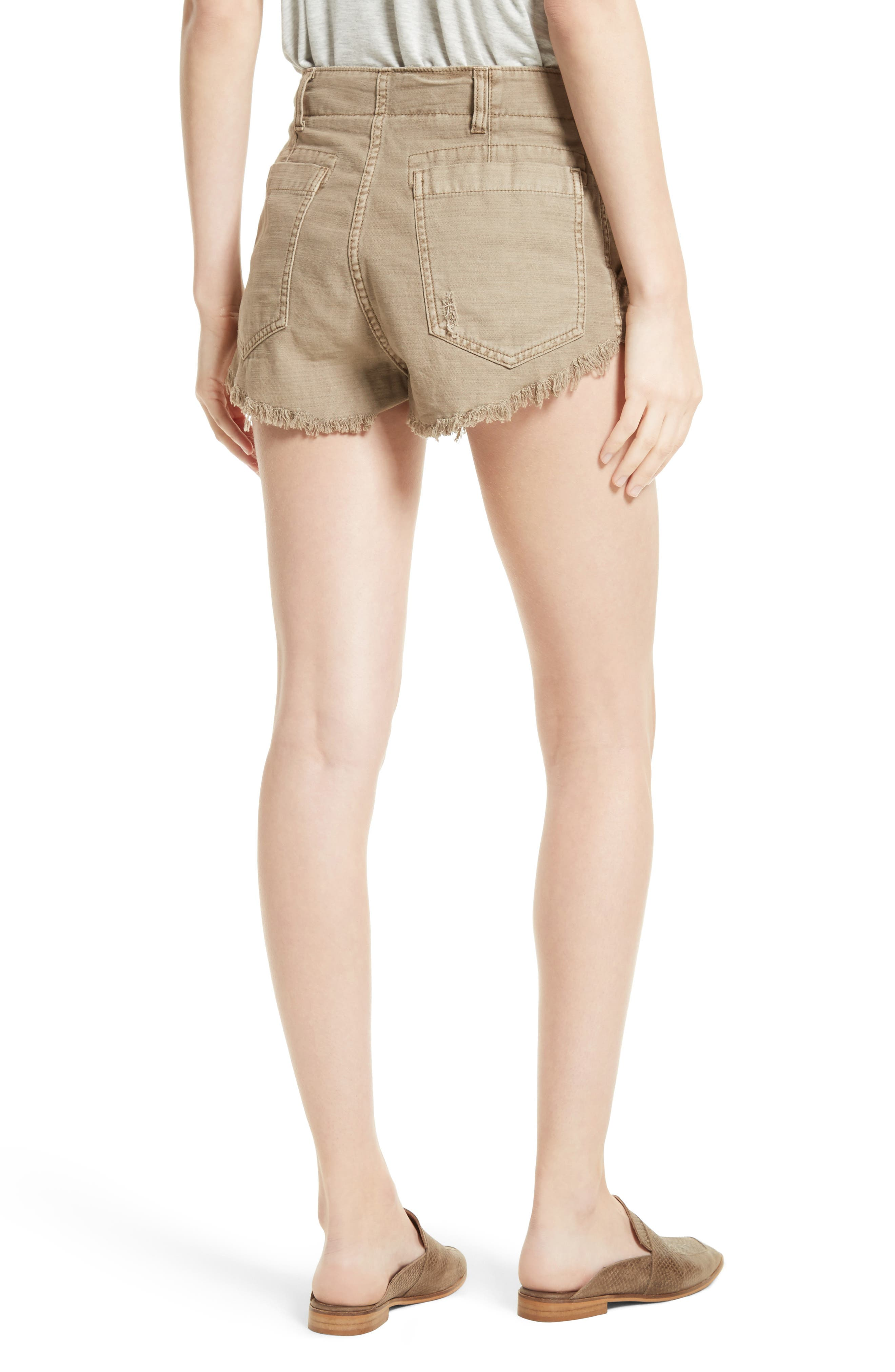 Alternate Image 2  - Free People Standoff Cutoff Shorts