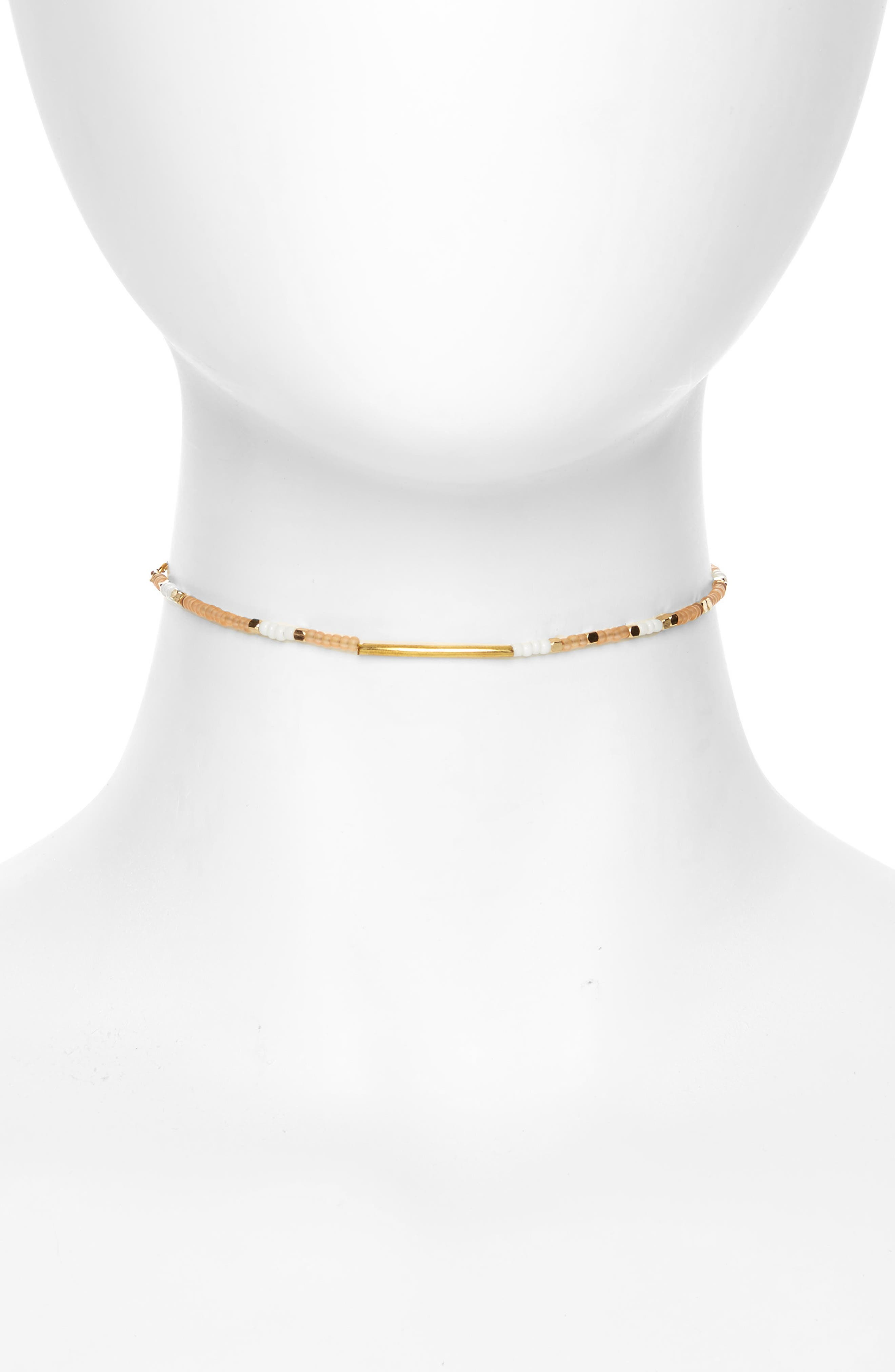 ME TO WE Morse Code Choker