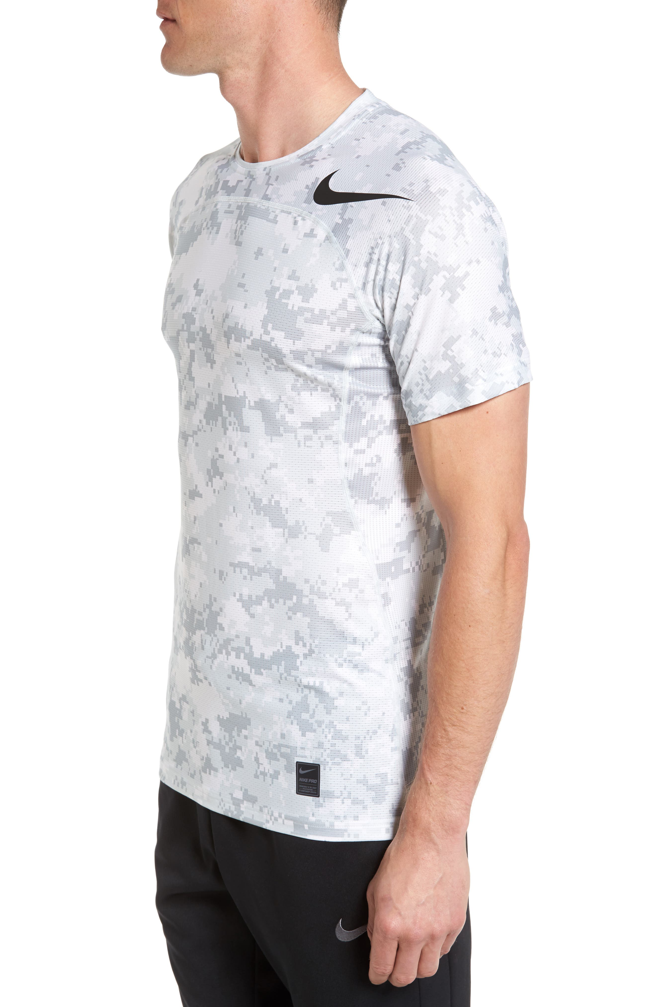 Alternate Image 3  - Nike Pro Hypercool Seamless T-Shirt
