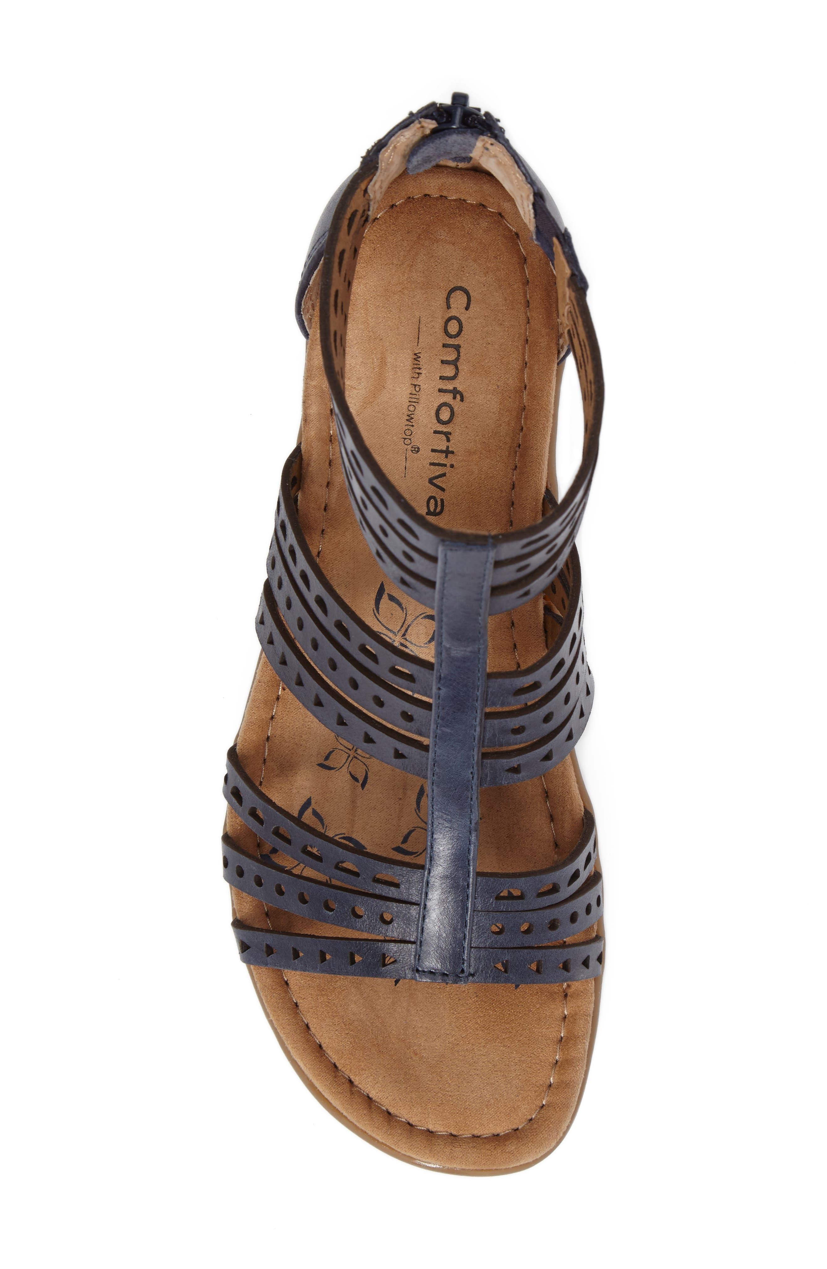 Alternate Image 5  - Comfortiva Kaelin Wedge Sandal (Women)