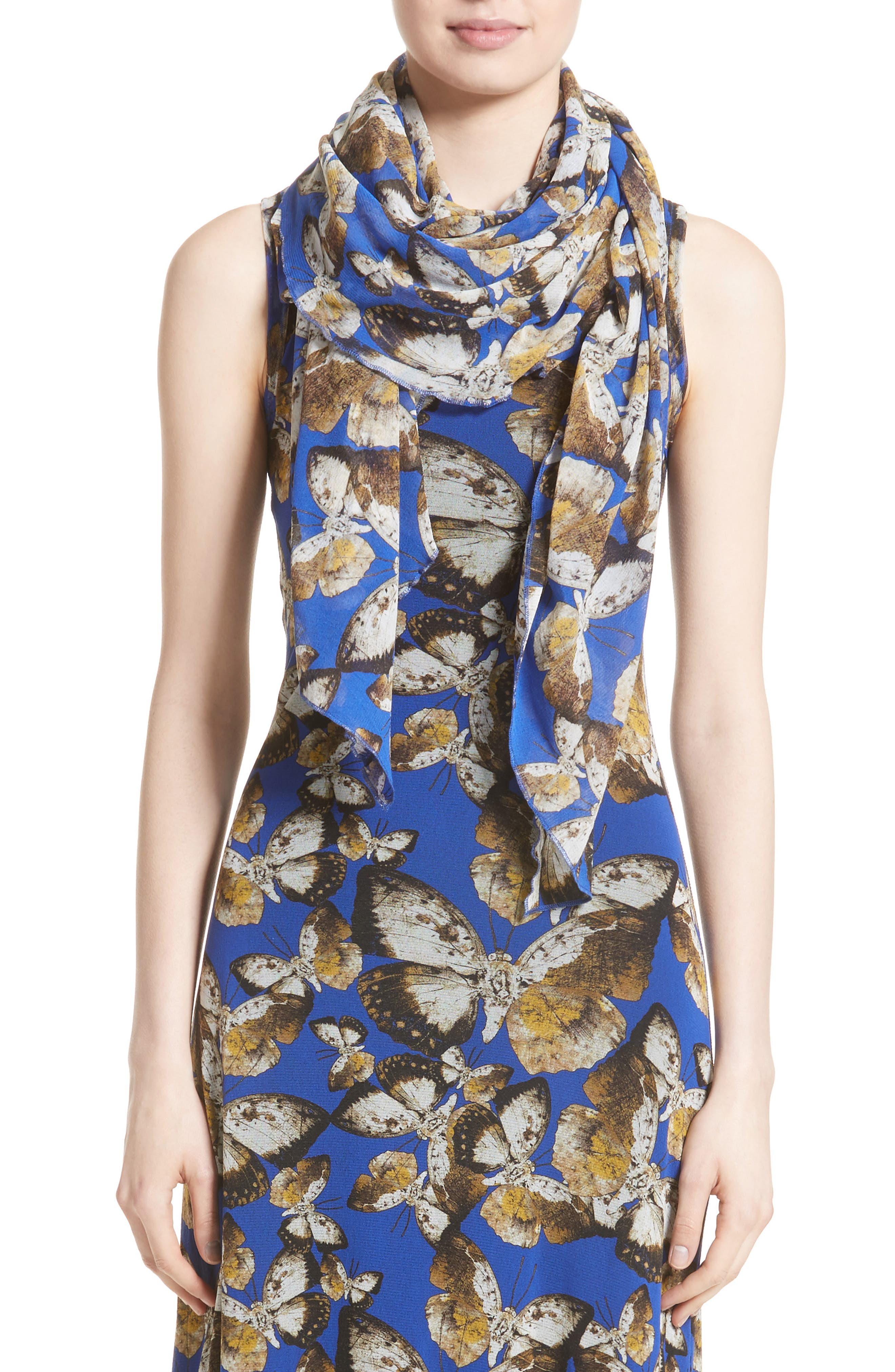 Alternate Image 7  - Fuzzi Tulle Maxi Dress