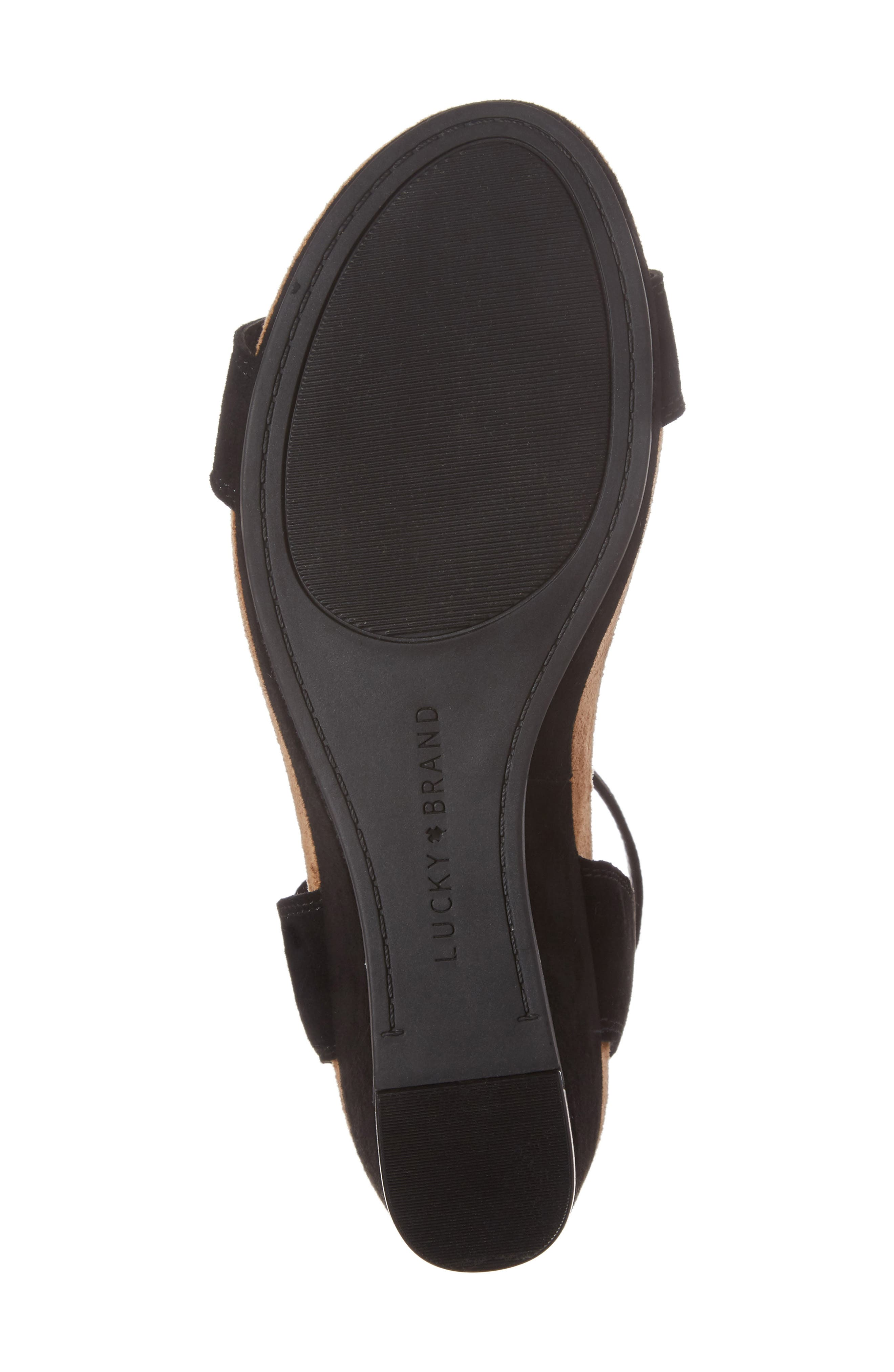 Alternate Image 6  - Lucky Brand Karston Wedge Sandal (Women)