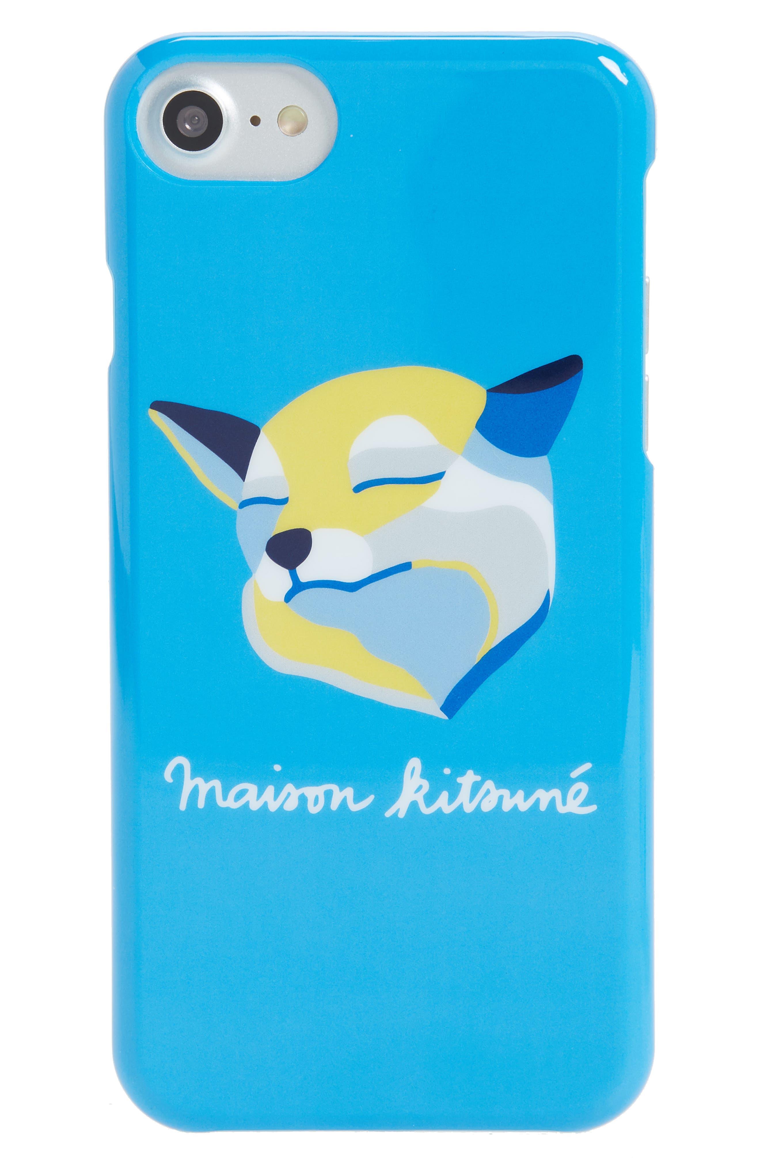 Alternate Image 1 Selected - Maison Kitsuné Fox Head iPhone 7 Case