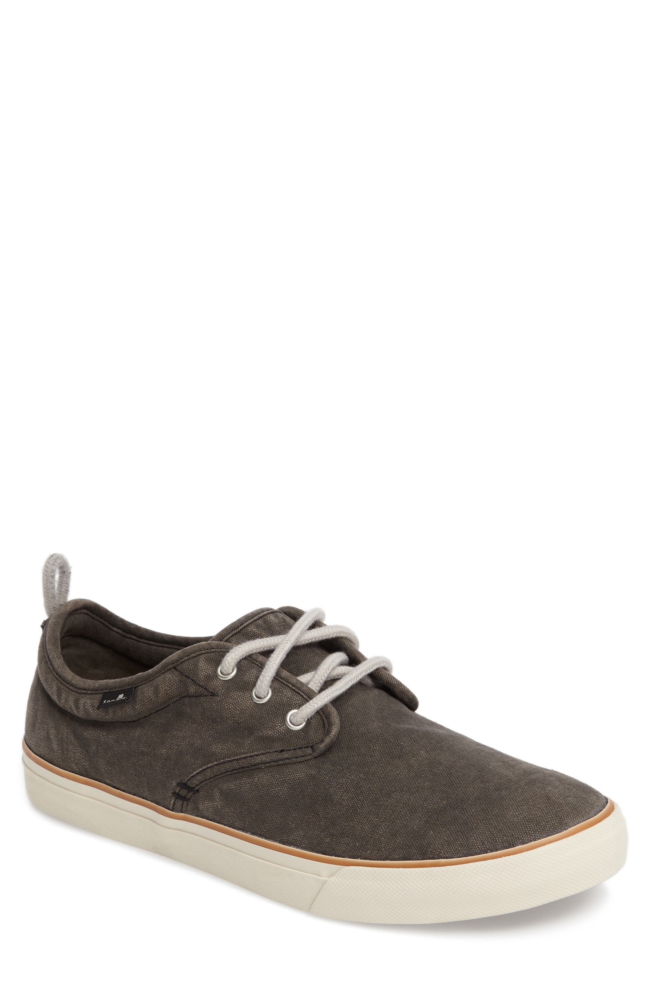 Guide Plus Sneaker,                         Main,                         color, Washed Black Canvas