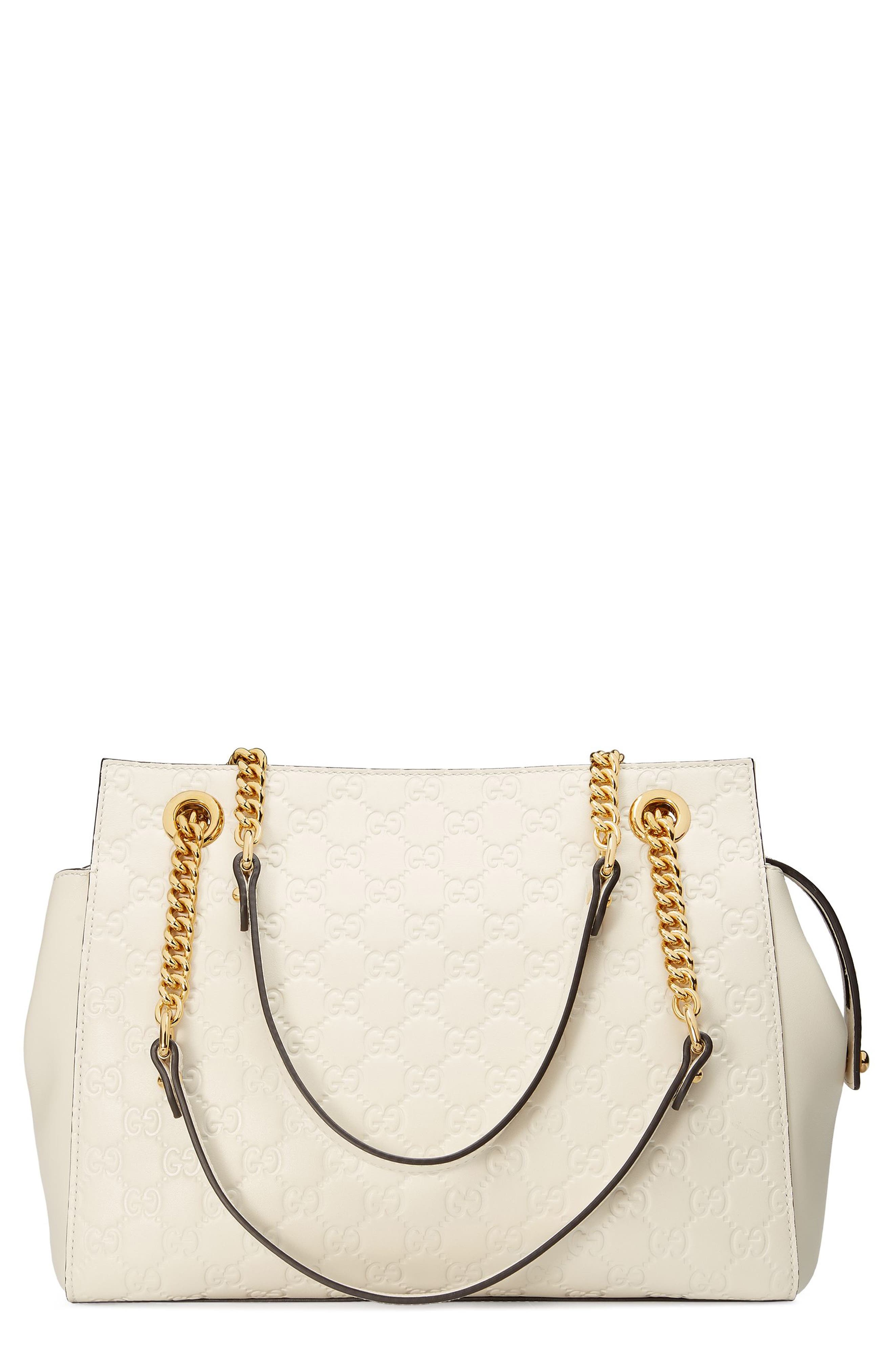 Gucci Signature Soft Leather Shoulder Bag | Nordstrom