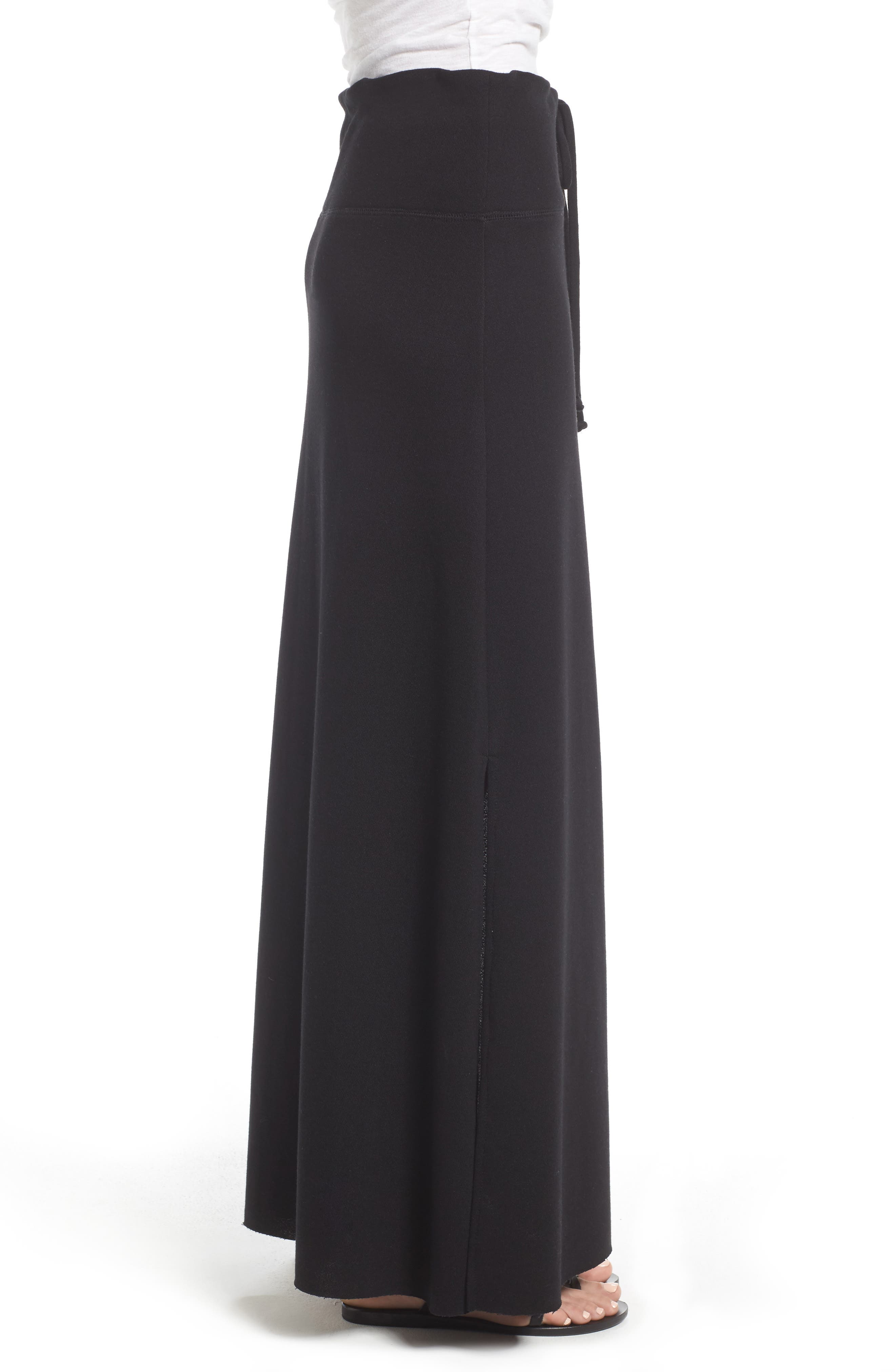Alternate Image 3  - Caslon® Drawstring Knit Maxi Skirt (Regular & Petite)
