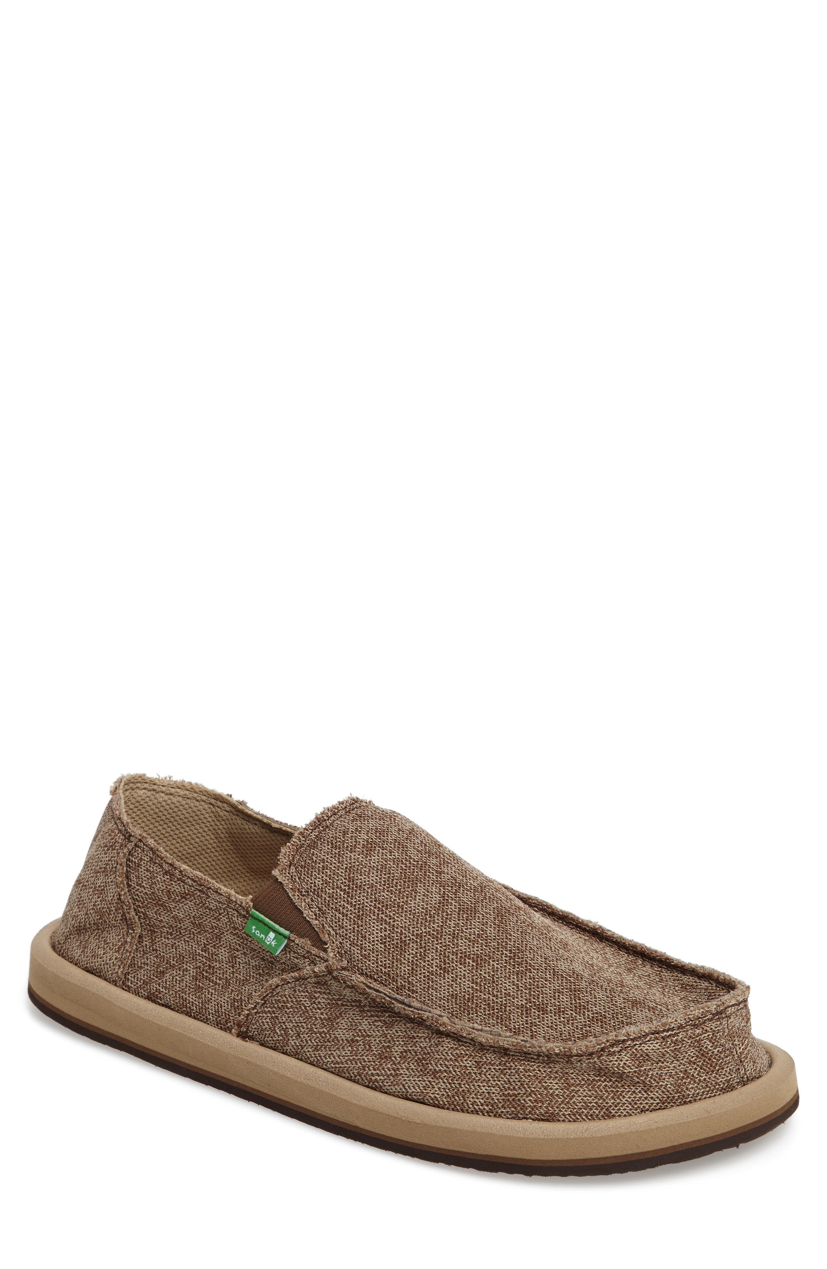 Slip-On,                         Main,                         color, Brown