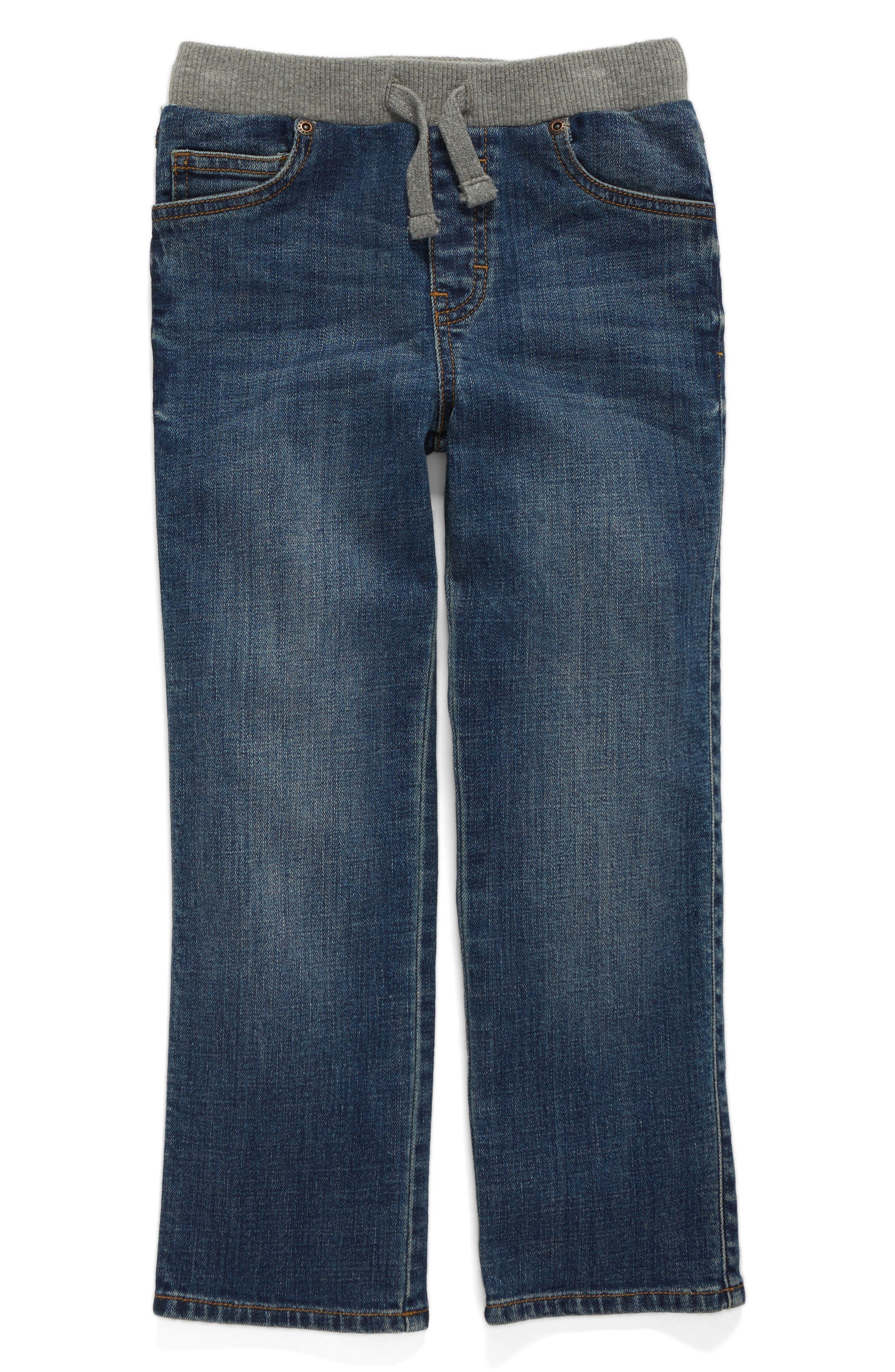 Straight Leg Jeans,                         Main,                         color, Trail Blazer Wash
