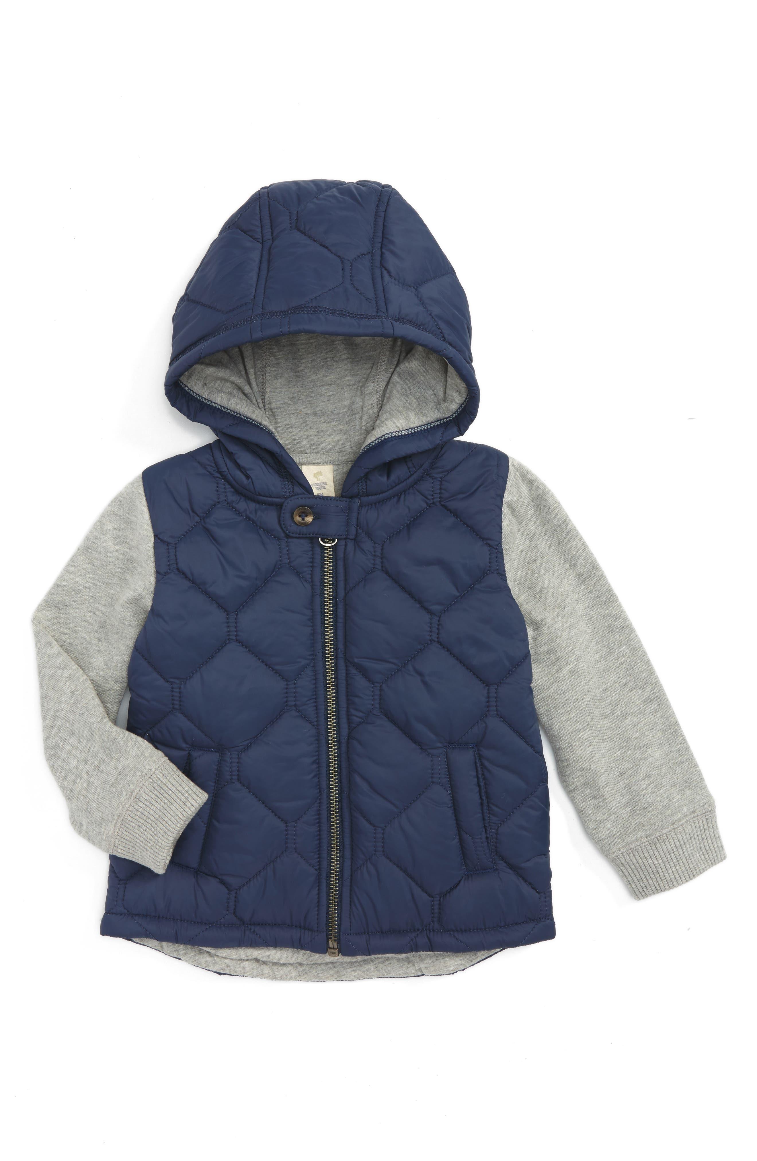 Tucker + Tate Hooded Jacket (Baby Boys)